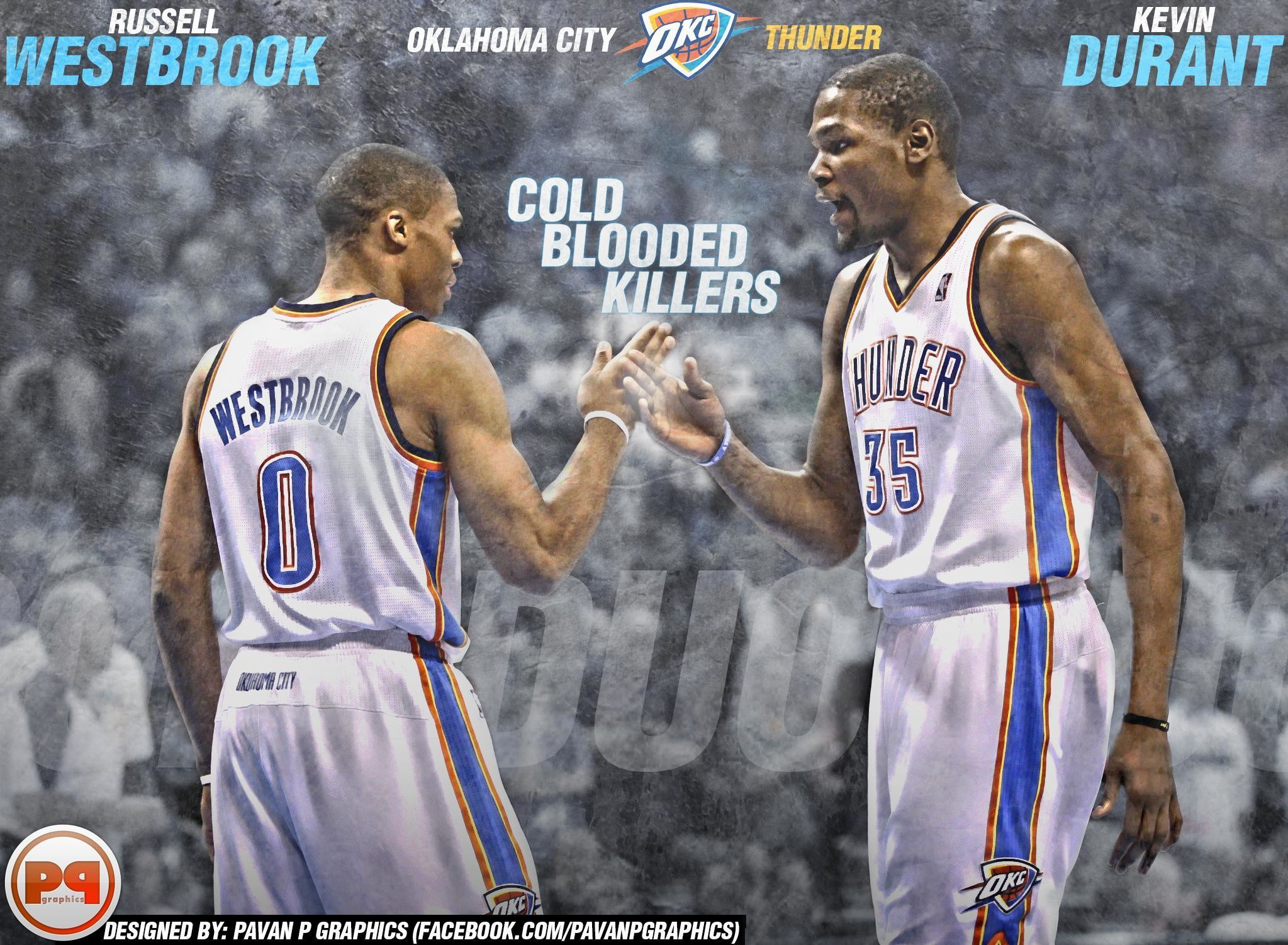Res: 2047x1501, Russell westbrook and kevin durant wallpaper - photo#4