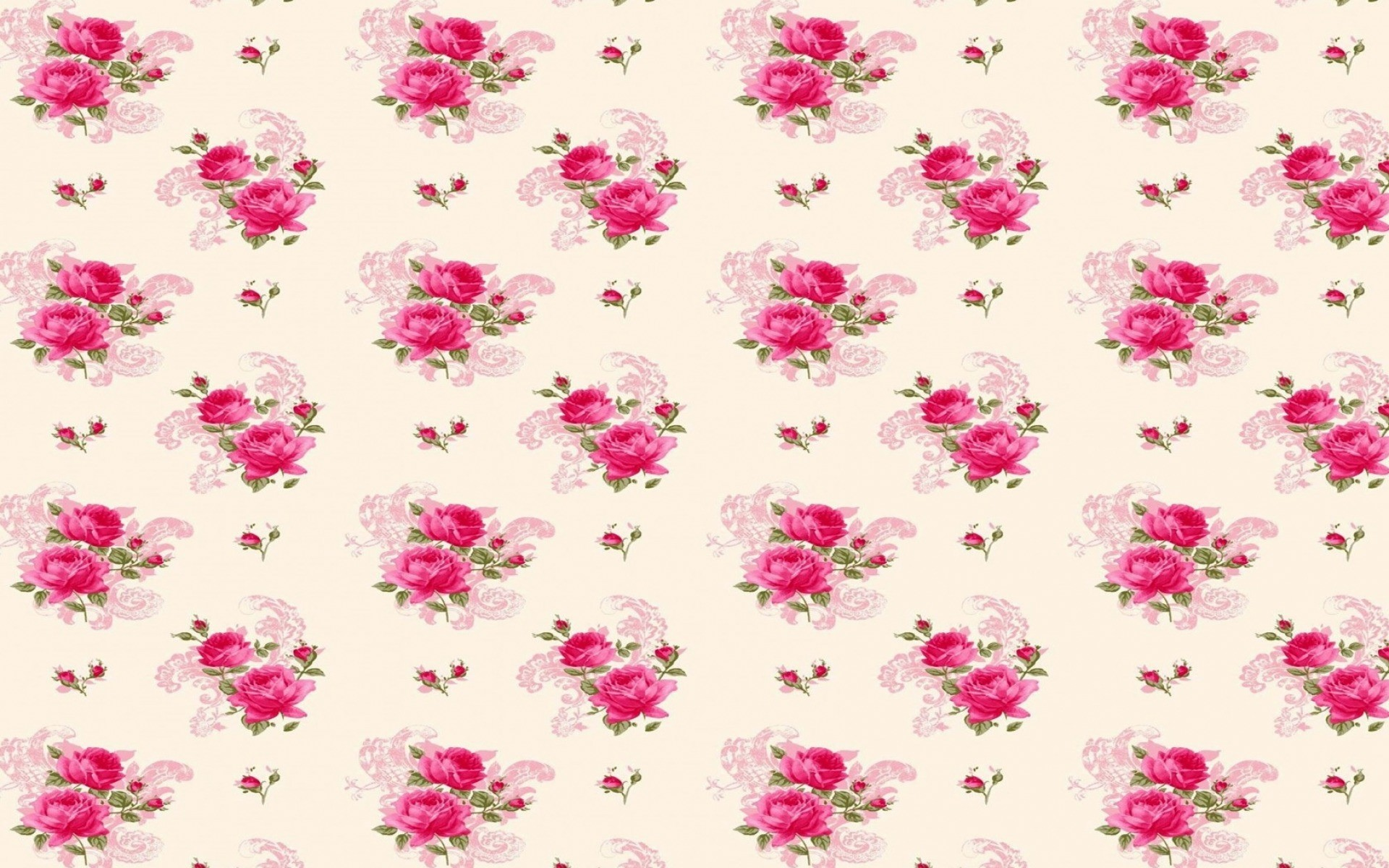 Res: 1920x1200, Bild: Lovely Pink Rose-Muster wallpapers and stock photos. Â«
