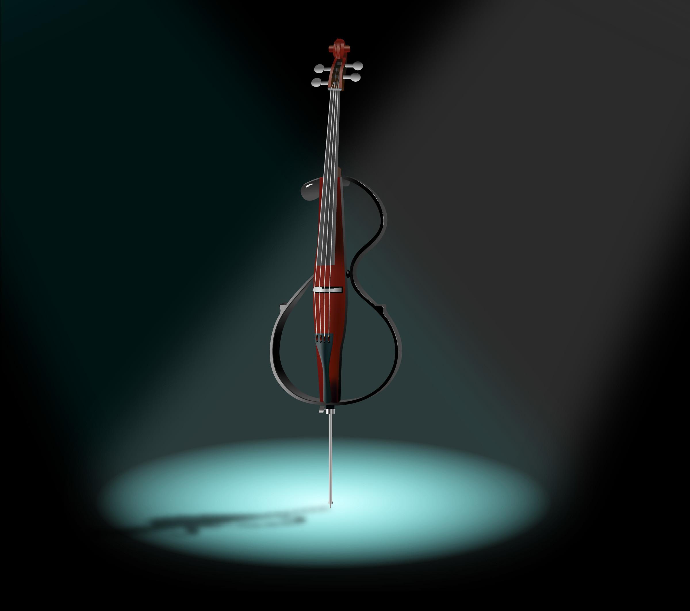 Res: 2400x2124, Cello Wallpaper