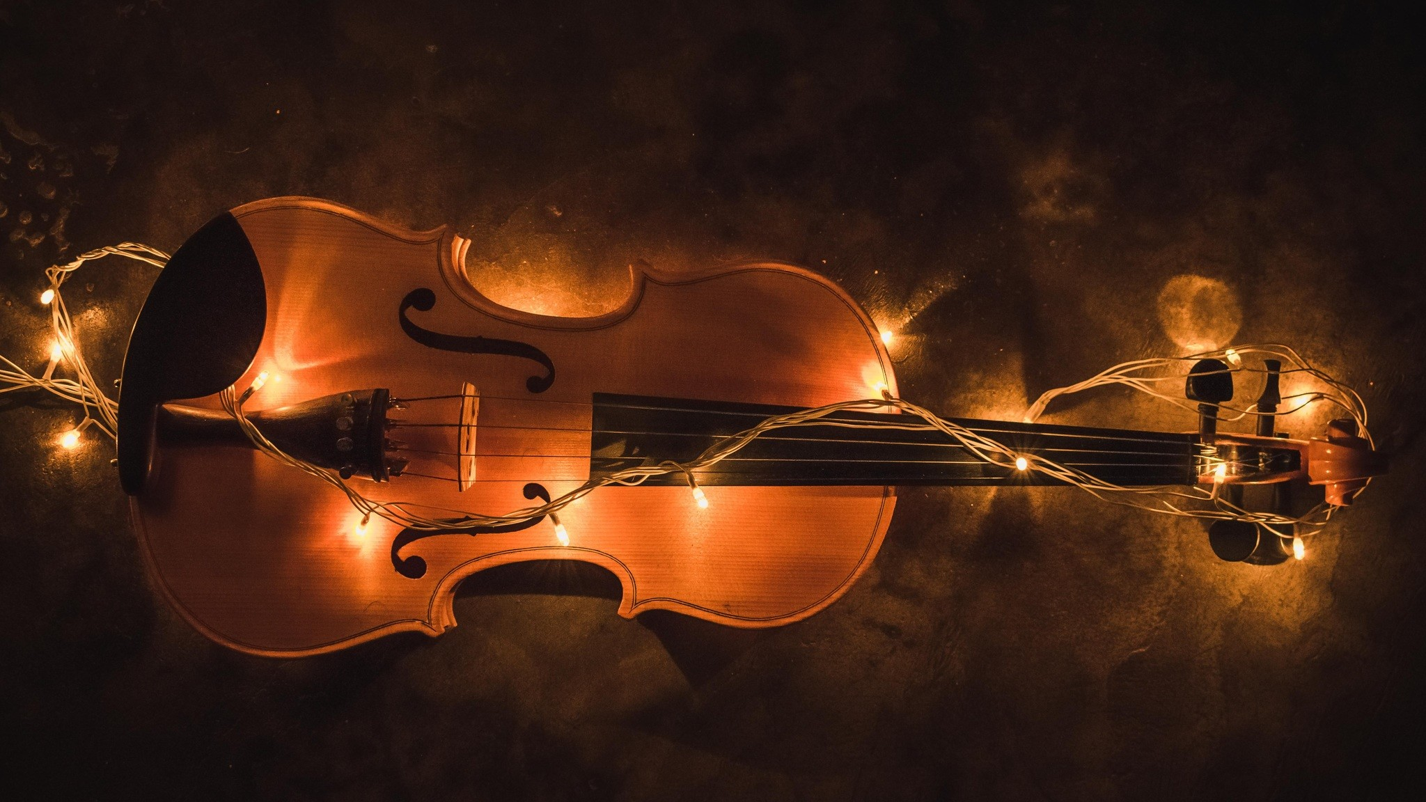 Res: 2048x1152,  Violin Lighting Instrument  Resolution HD 4k Wallpapers,  Images, Backgrounds, Photos and Pictures