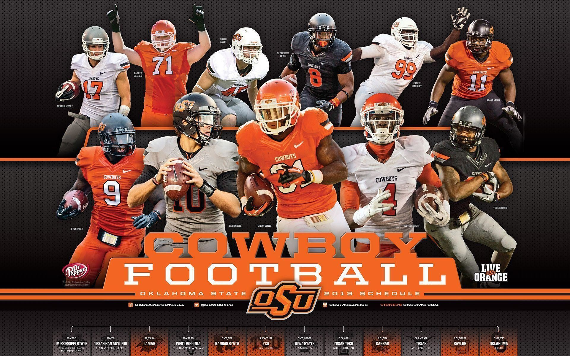 Res: 1920x1200, Oklahoma State University 2016 Football Schedule Wallpapers .