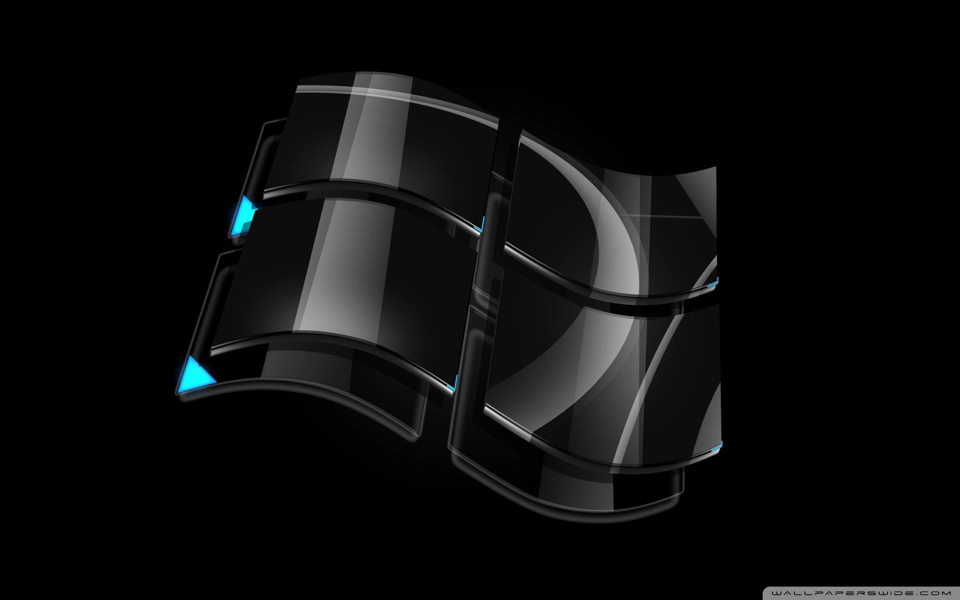 Res: 1920x1200, Vista Black Logo HD Wide Wallpaper for 4K UHD Widescreen desktop &  smartphone