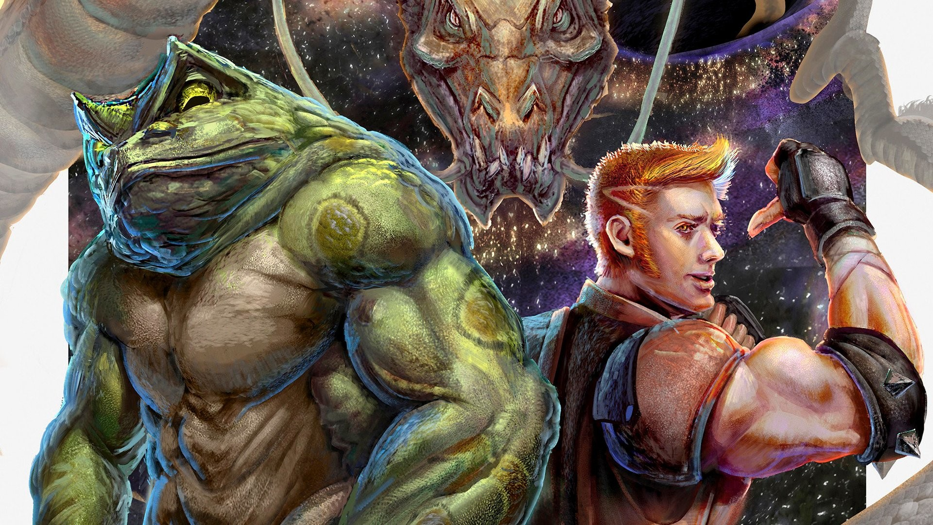 Res: 1920x1080, Video Game - Battletoads & Double Dragon Wallpaper