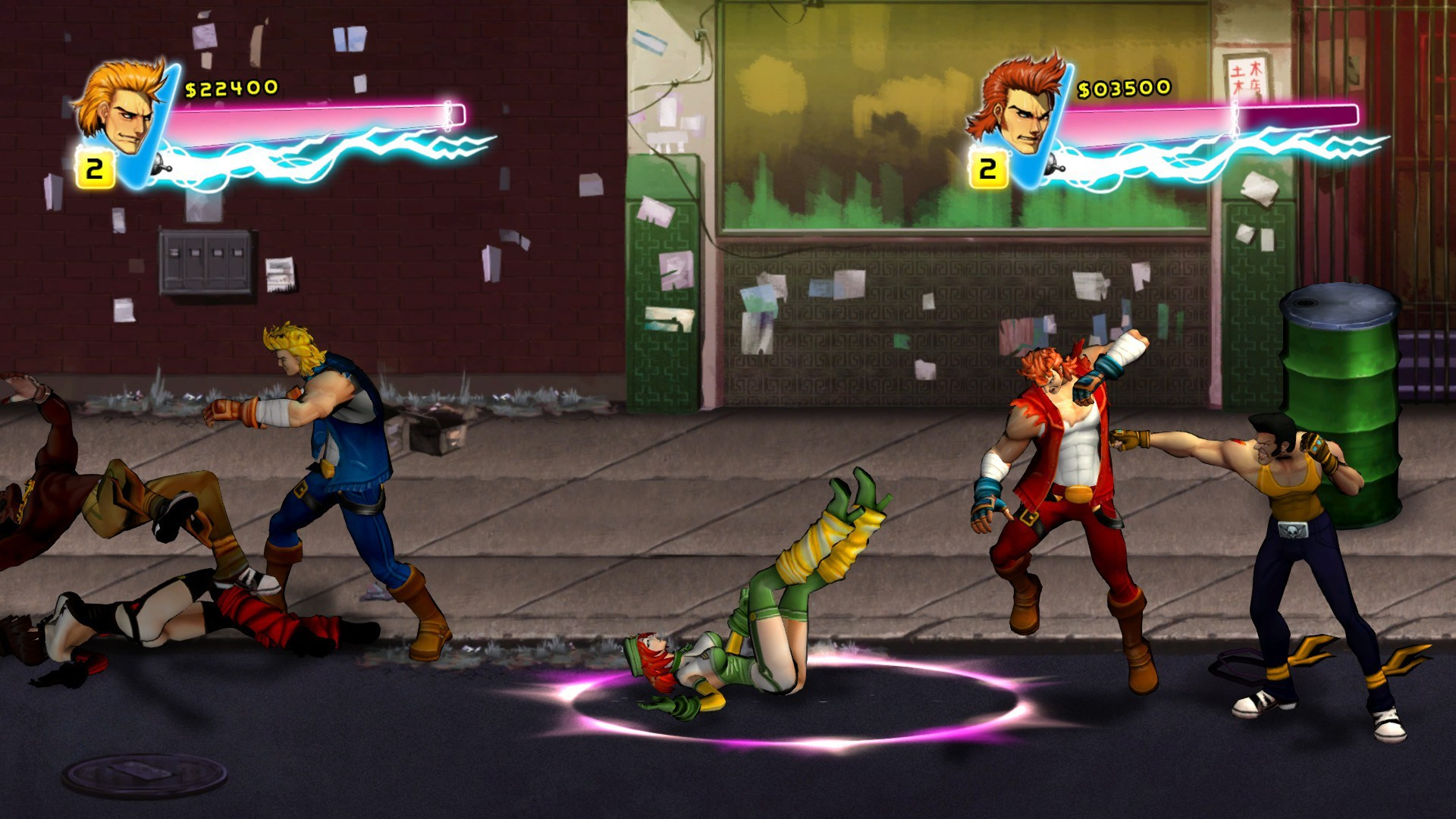 Res: 1920x1080, Double Dragon Neon HD Wallpapers 16 - 1920 X 1080