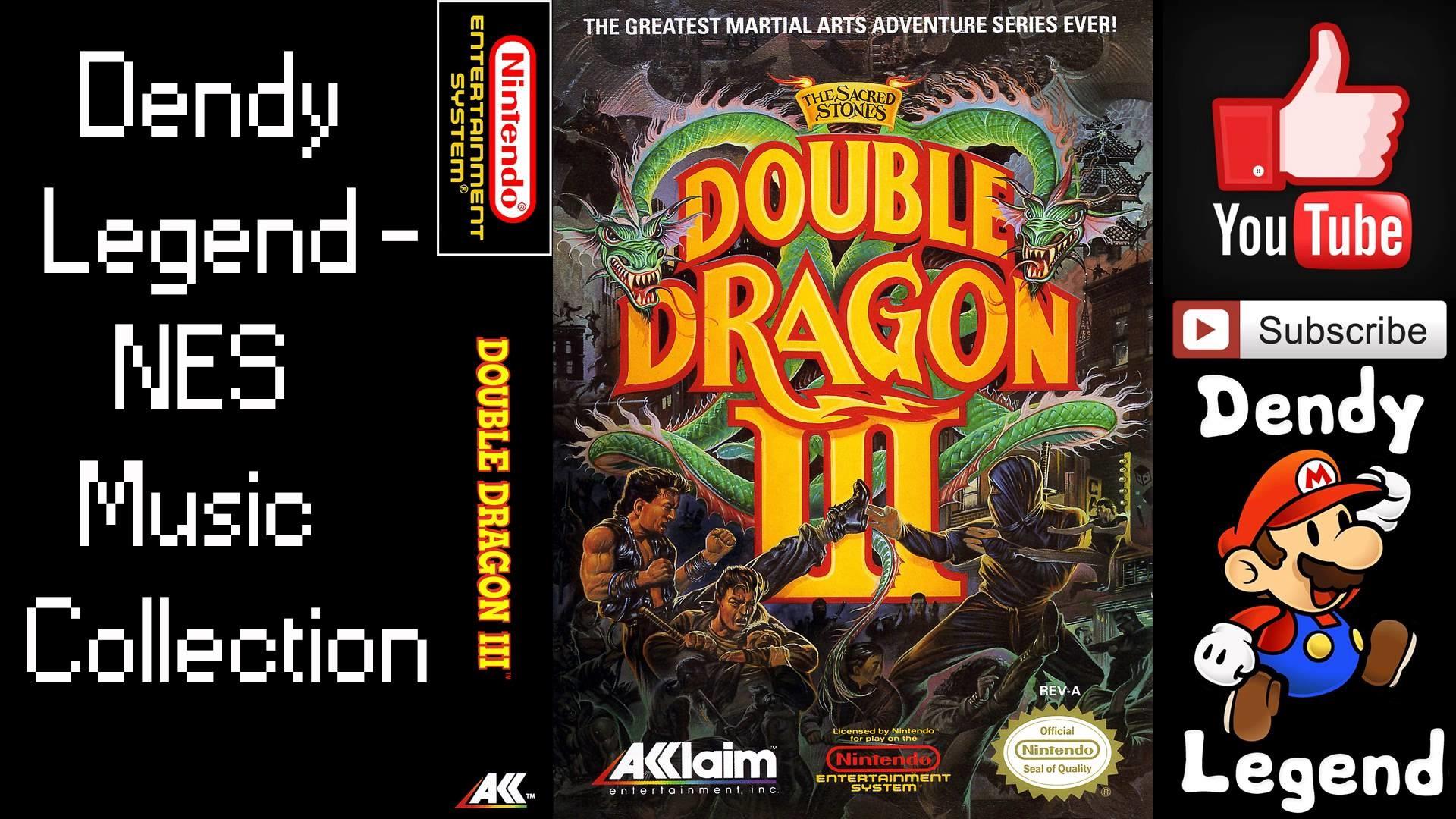 Res: 1920x1080, Double Dragon III - The Sacred Stones - NES - Gameplay screenshot