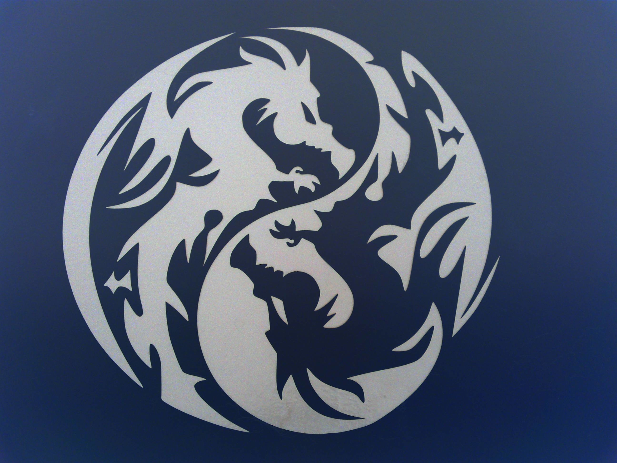Res: 2592x1944, Images For > Yin Yang Dragon Tiger Tribal