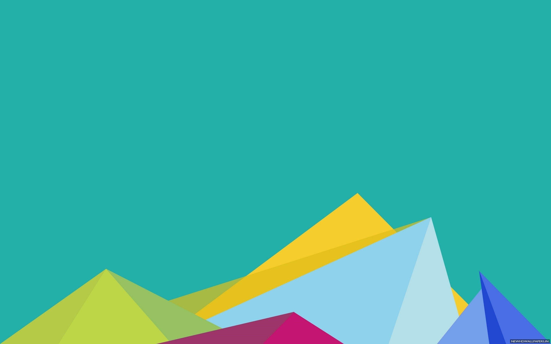 Res: 2880x1800, Minimalist Crystals Desktop Background Wallpaper - New HD Wallpapers