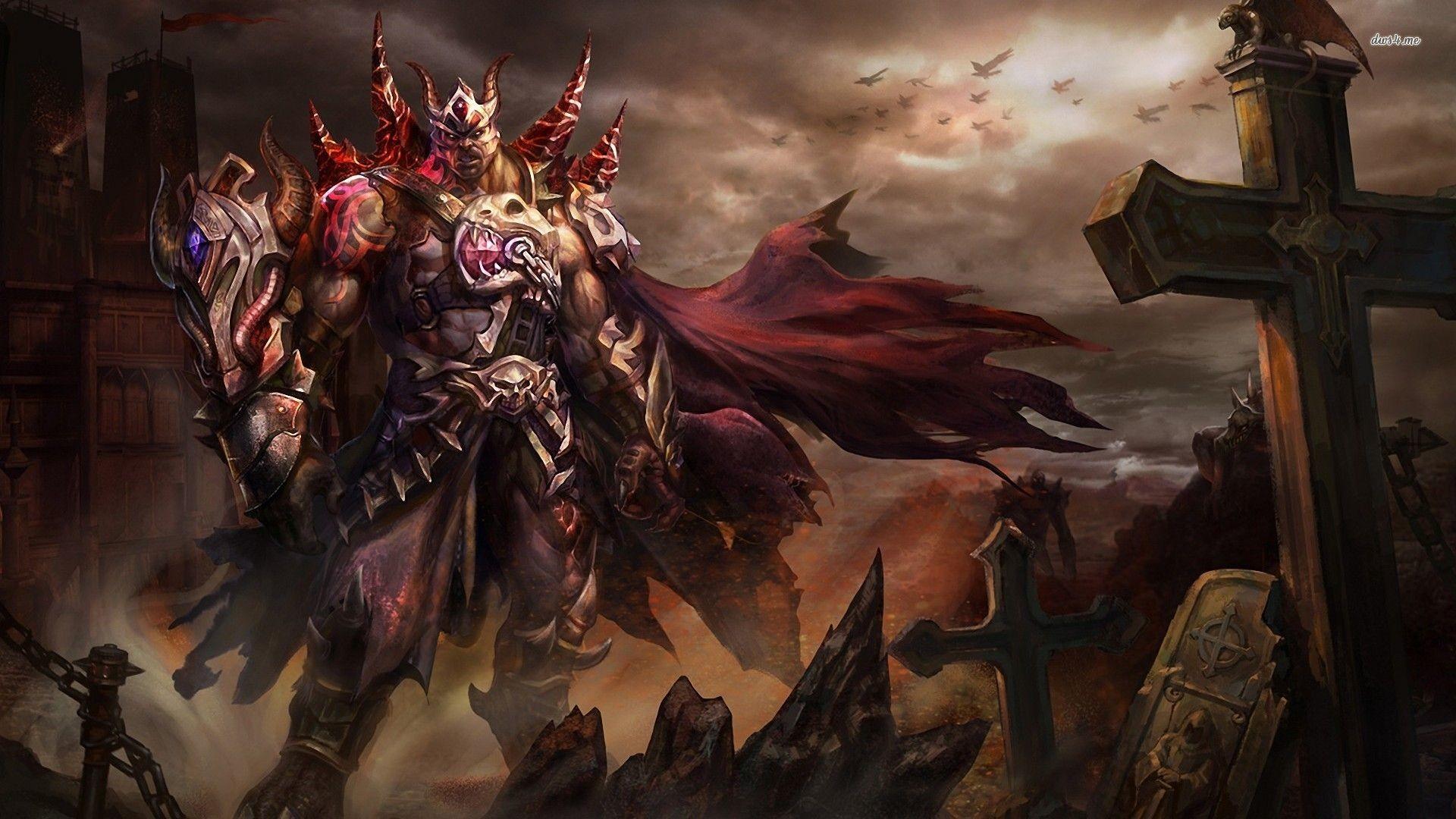 Res: 1920x1080, Demon Warrior | Demon warrior wallpaper