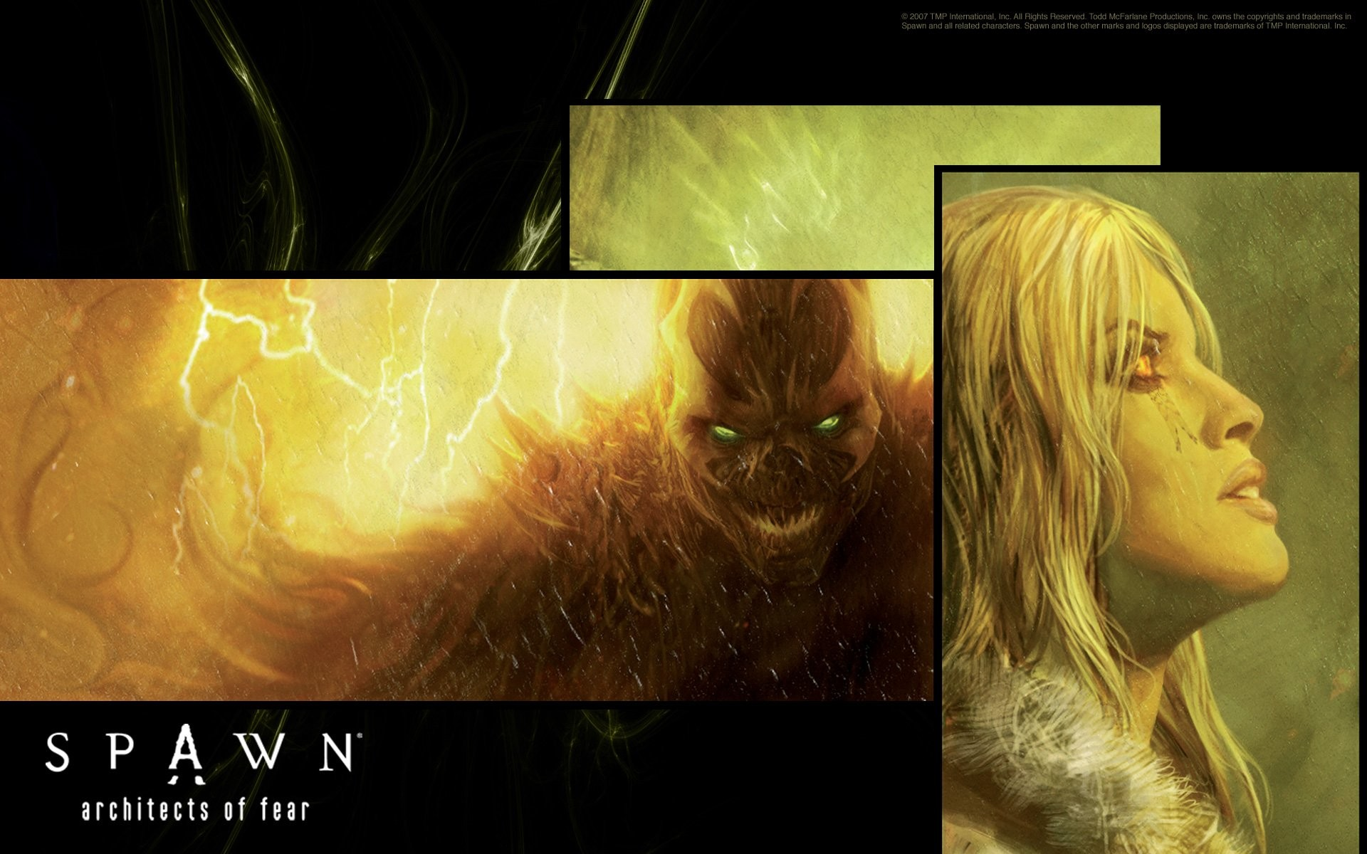 Res: 1920x1200, Superhero from Hell : Spawn Comics Wallpapers(Vol.02) 1920*1200 NO