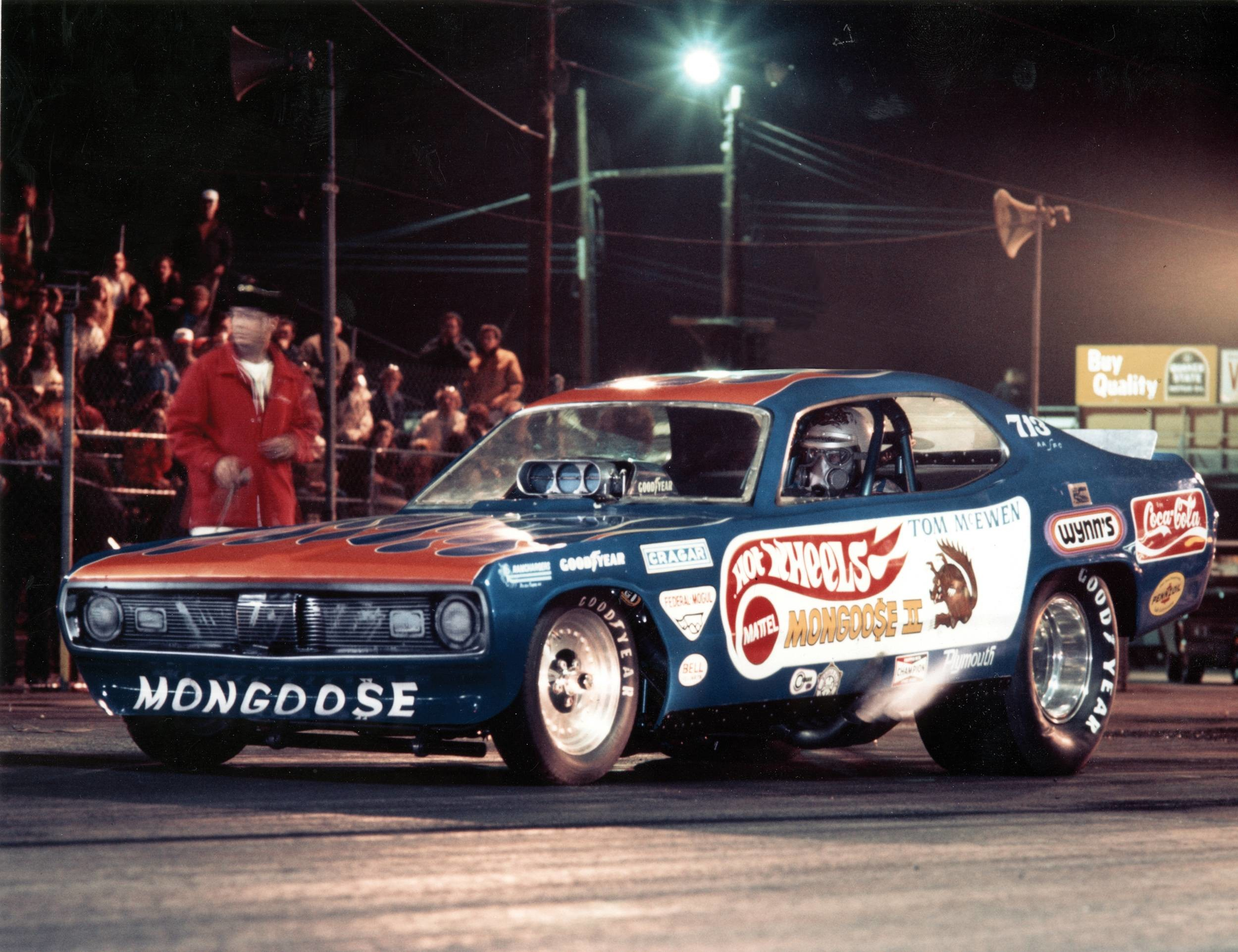 Res: 2500x1923, Funny Cars Night Racing Desktop Wallpaper - wallpaper source