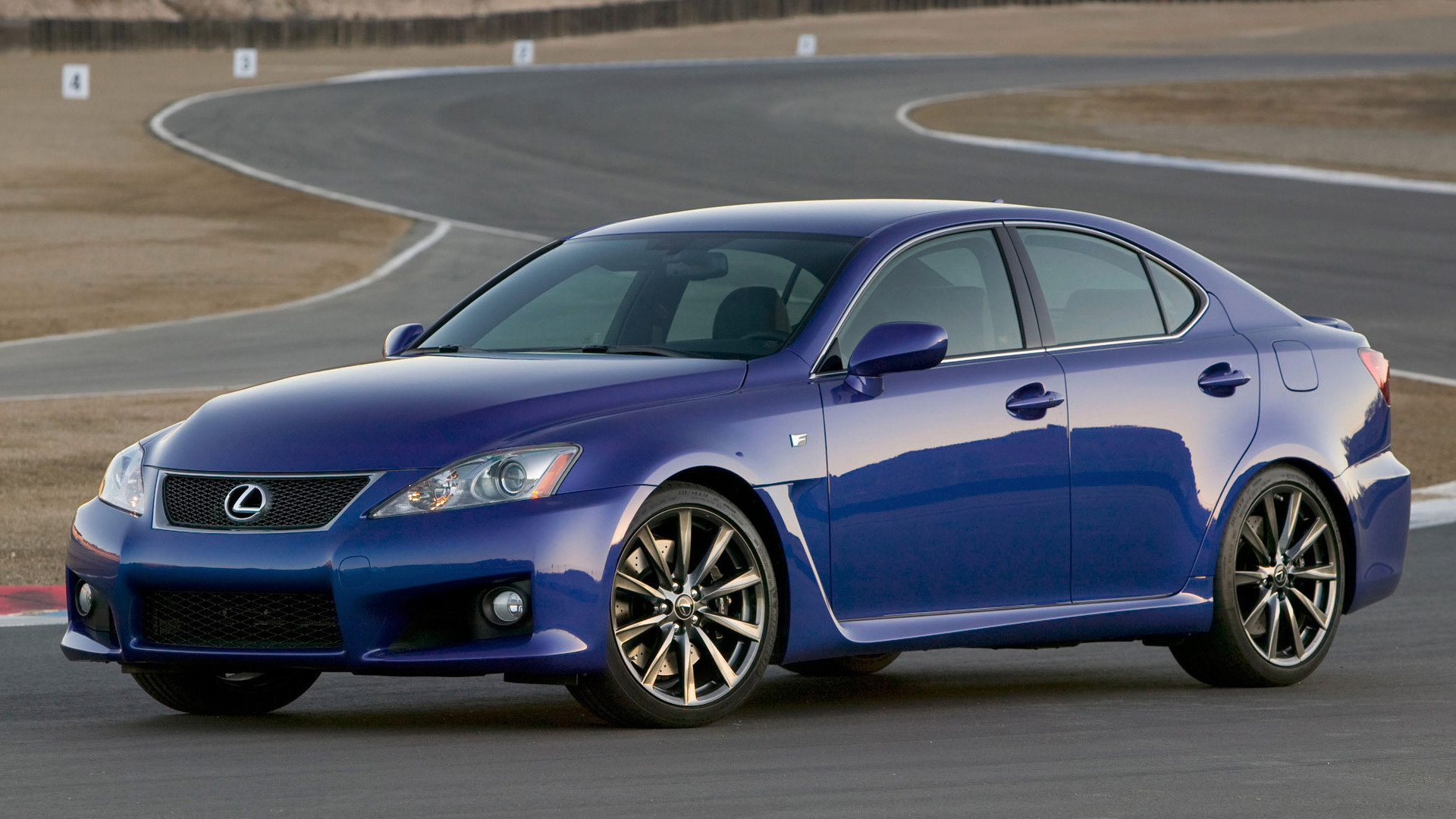 Res: 1920x1080, Car wallpapers: Lexus IS F