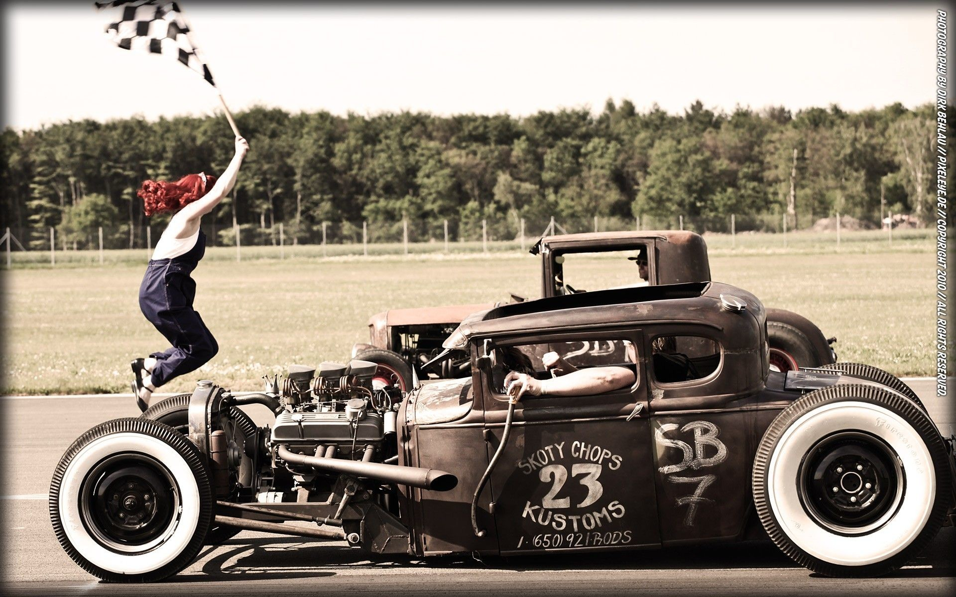 Res: 1920x1200, drag racing wallpaper | Hot rod rat rod drag racing coupe wallpaper  background