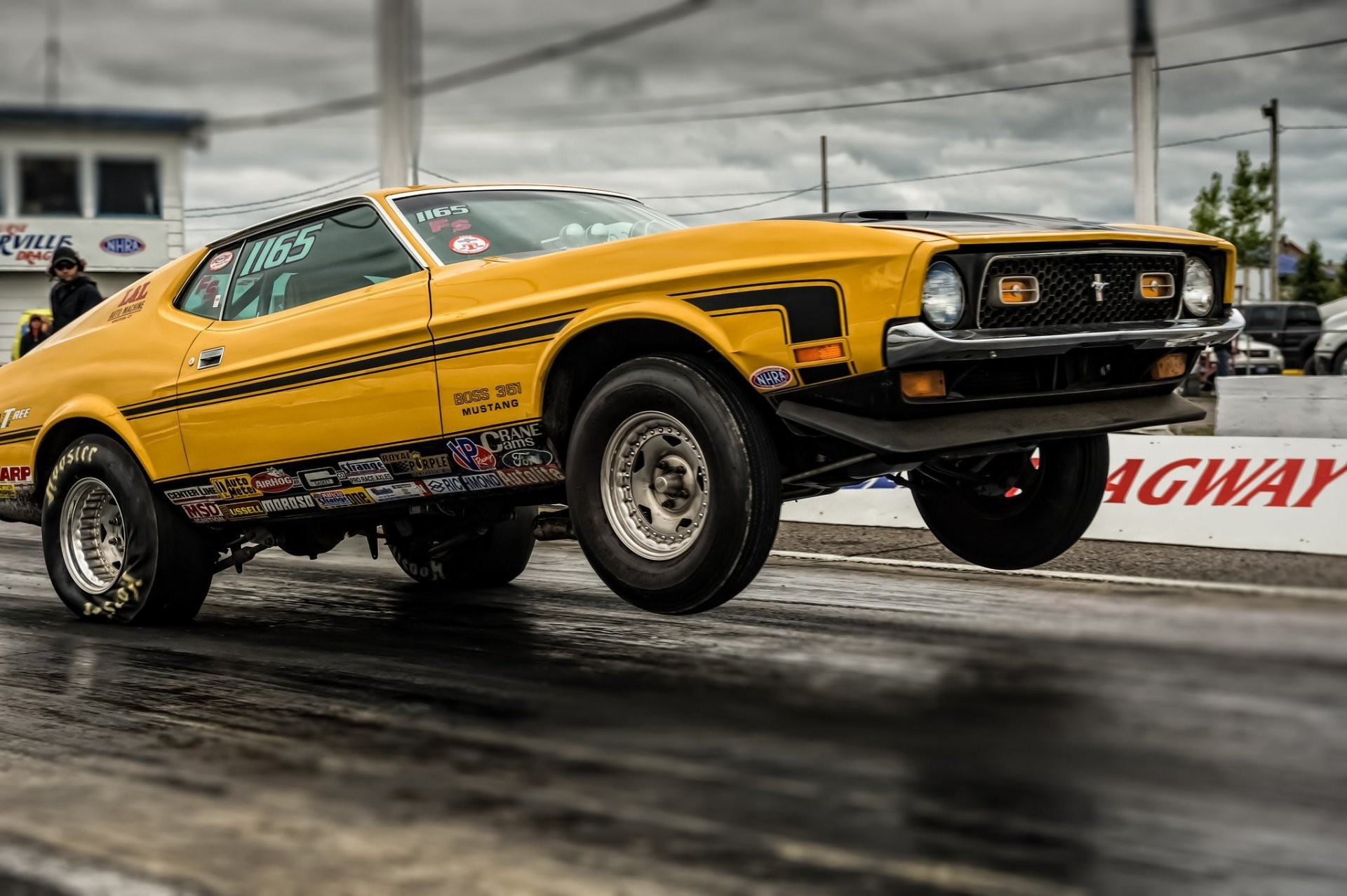 Res: 1920x1278, ford mustang muscle car drag racing race