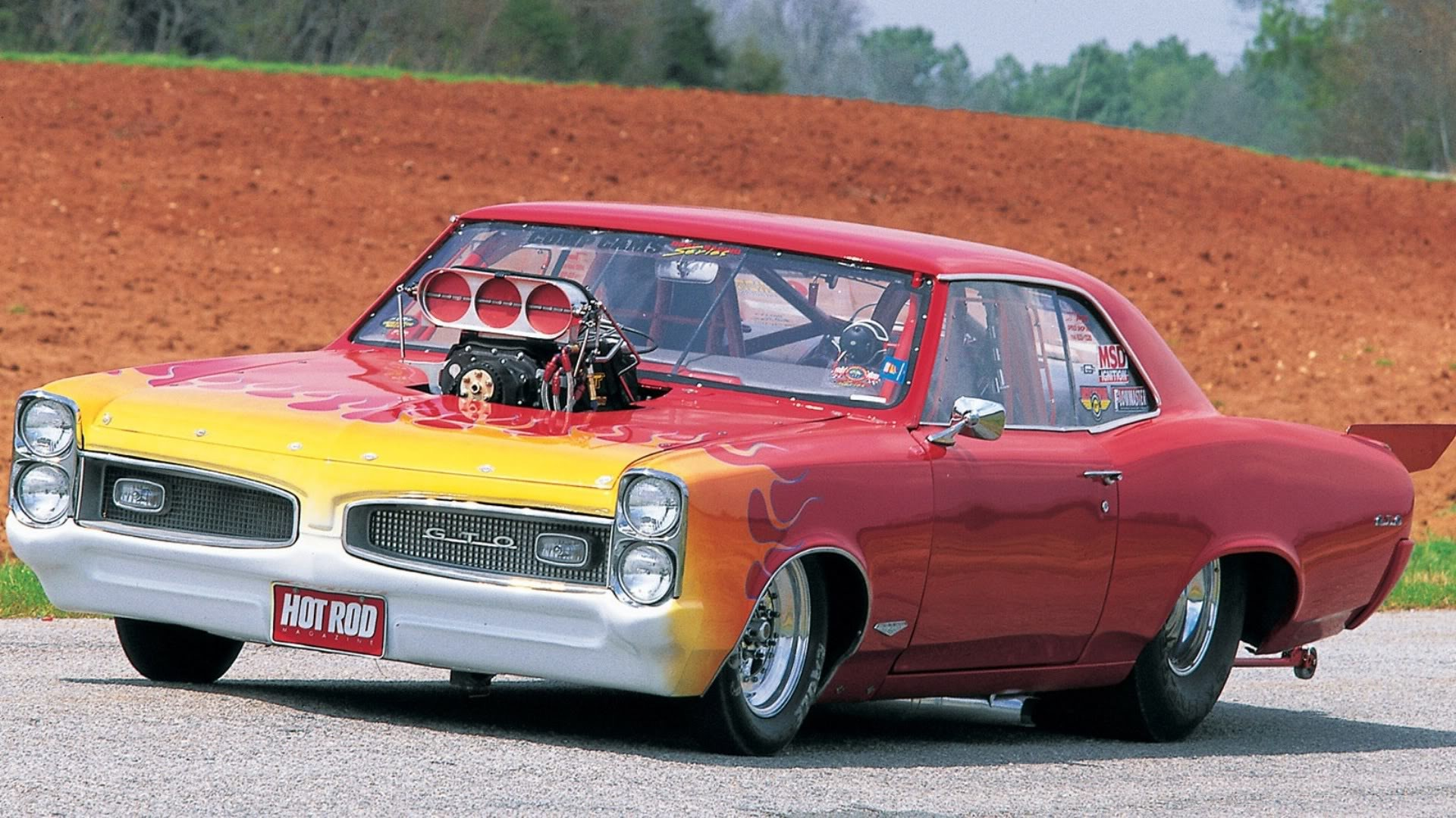 Res: 1920x1080, 1966 Pontiac GTO drag racing hot rod muscle cars engine blown wallpaper |   | 37735 | WallpaperUP