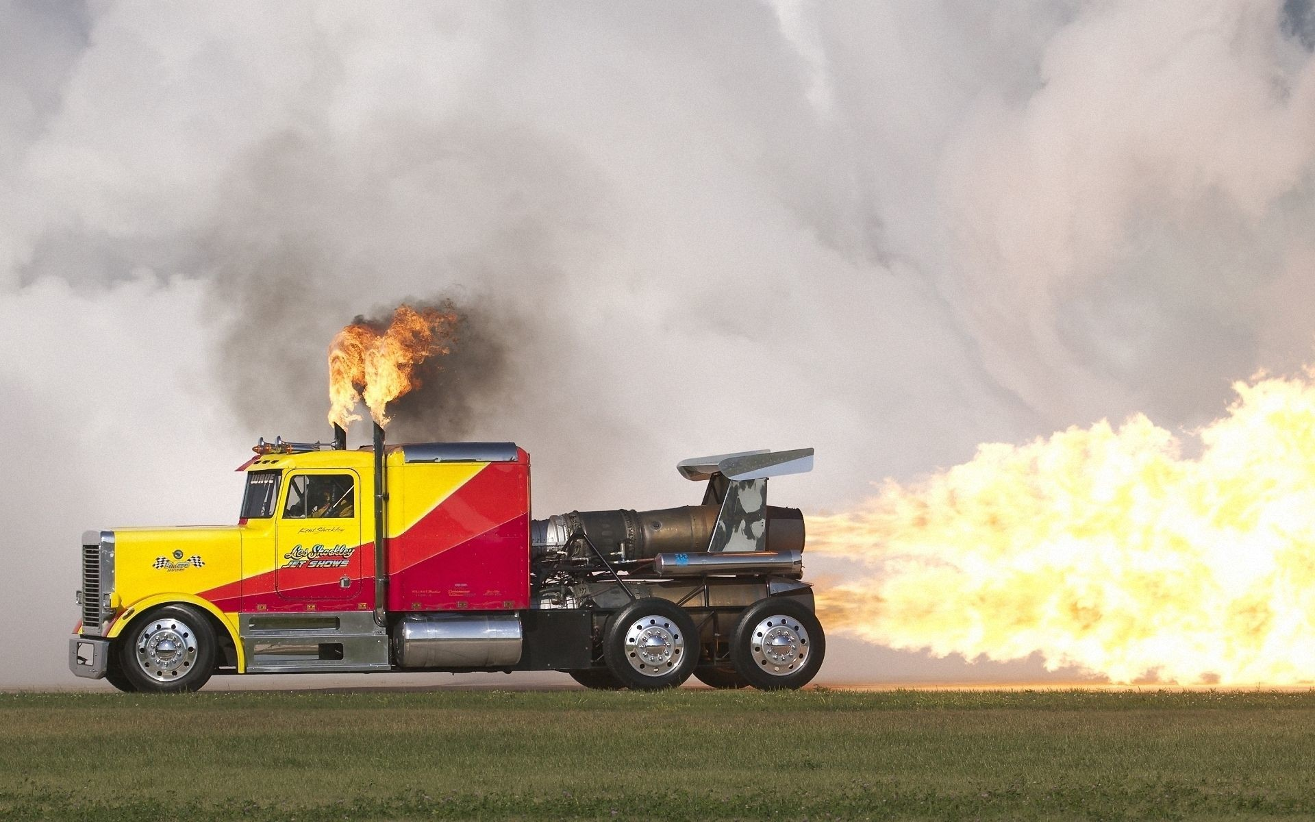Res: 1920x1200, drag racing wallpaper | Vehicles - Drag Racing - Truck - Jet - Fire - Flame