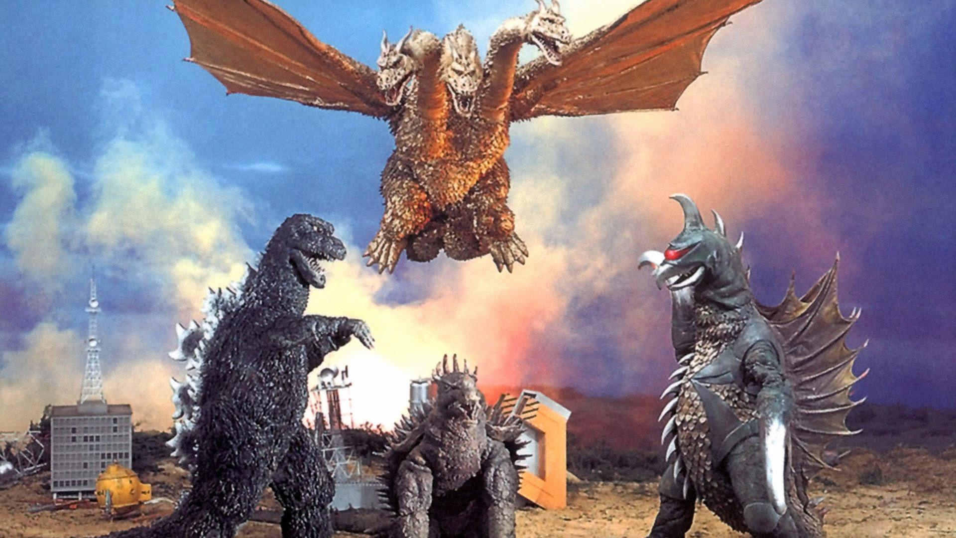 Res: 1920x1080, Godzilla Wallpaper Awesome Monster Movie Reviews Godzilla Vs Gigan Pt 2 Of 2