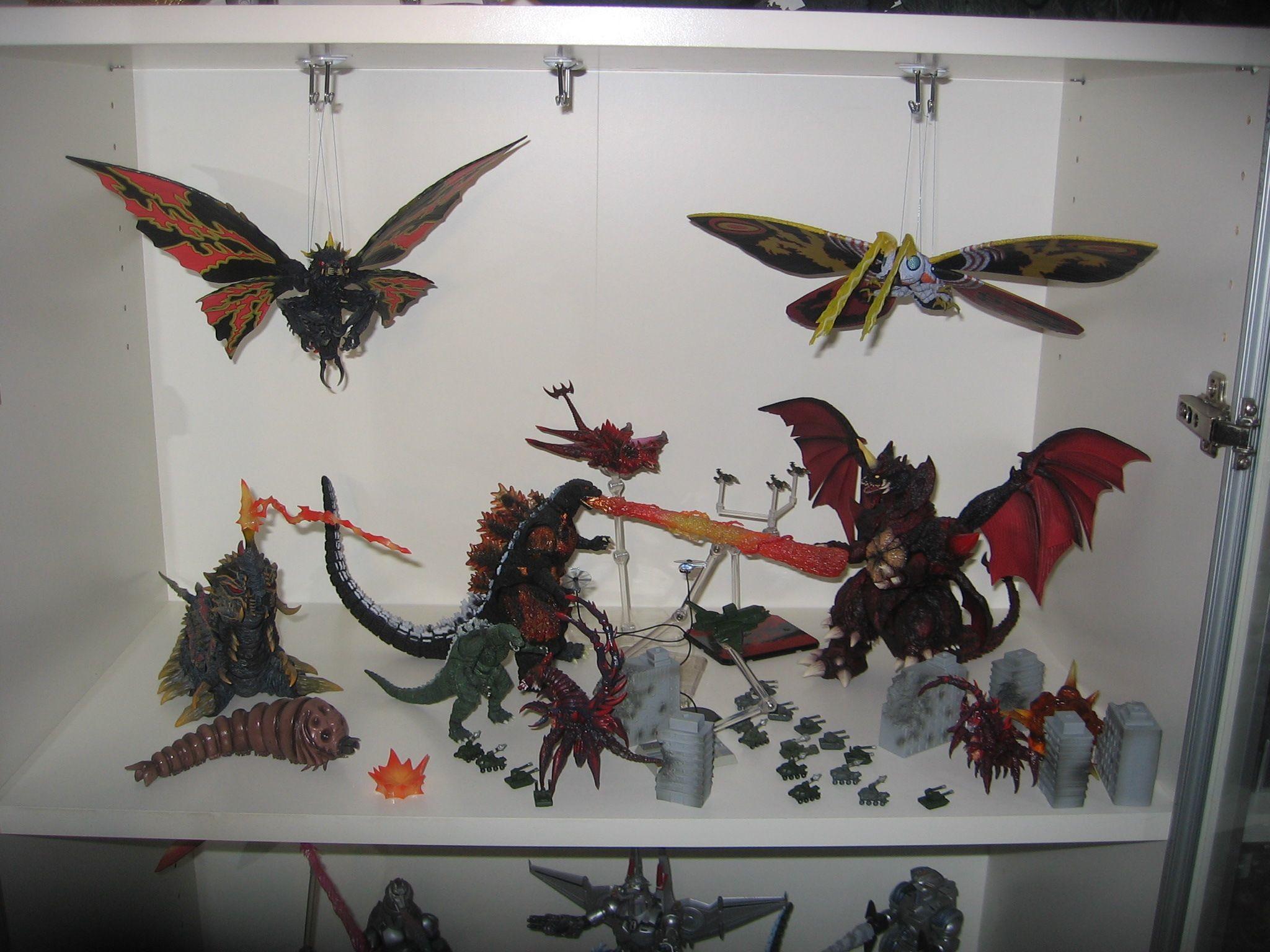 Res: 2048x1536, S.H.MonsterArts Godzilla Heisei Battle 2 -03242018- Destoroyah - Destoroyah  Evolution Set - Jr