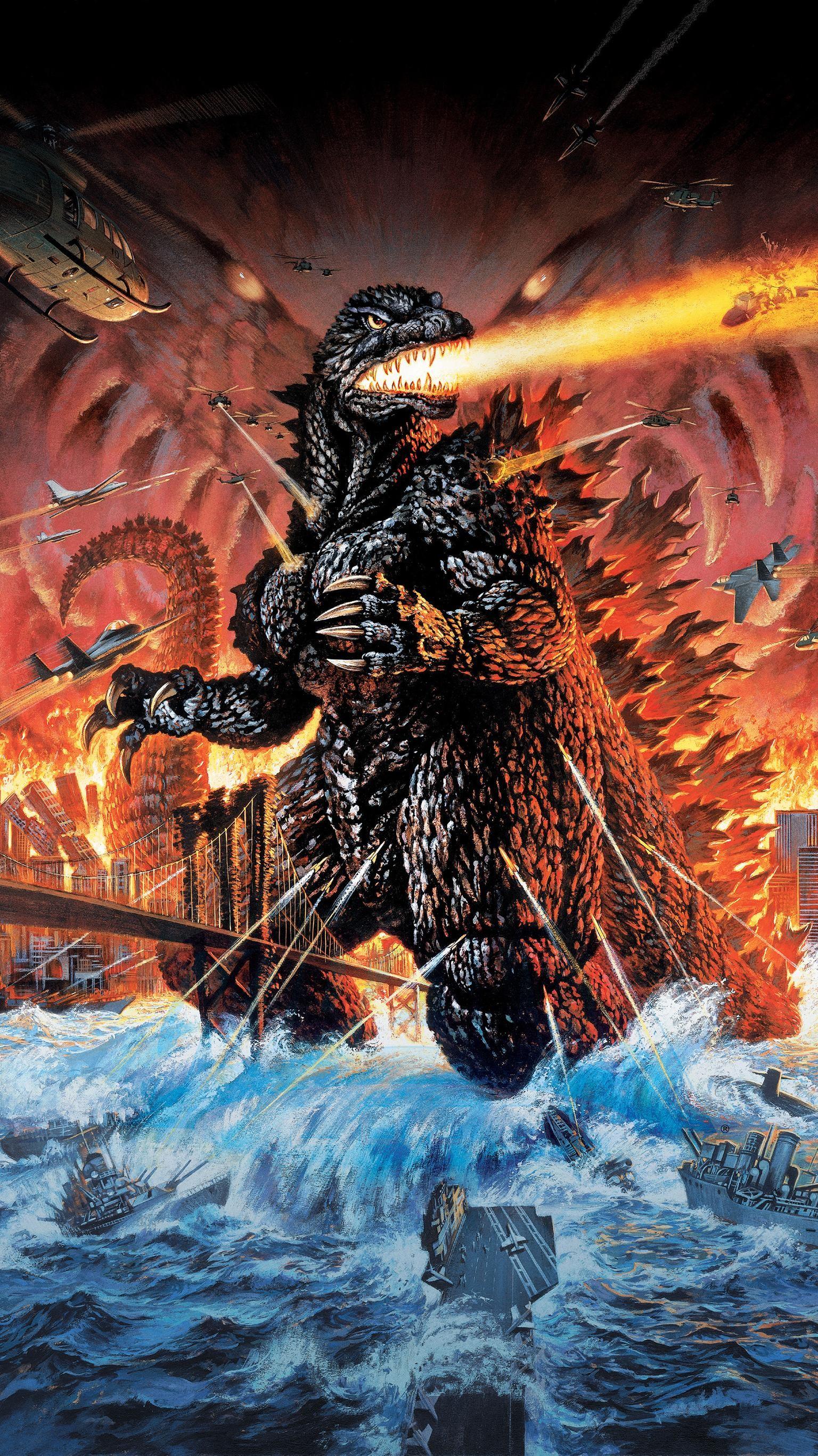 "Res: 1536x2732, Wallpaper for ""Godzilla 2000"" ..."