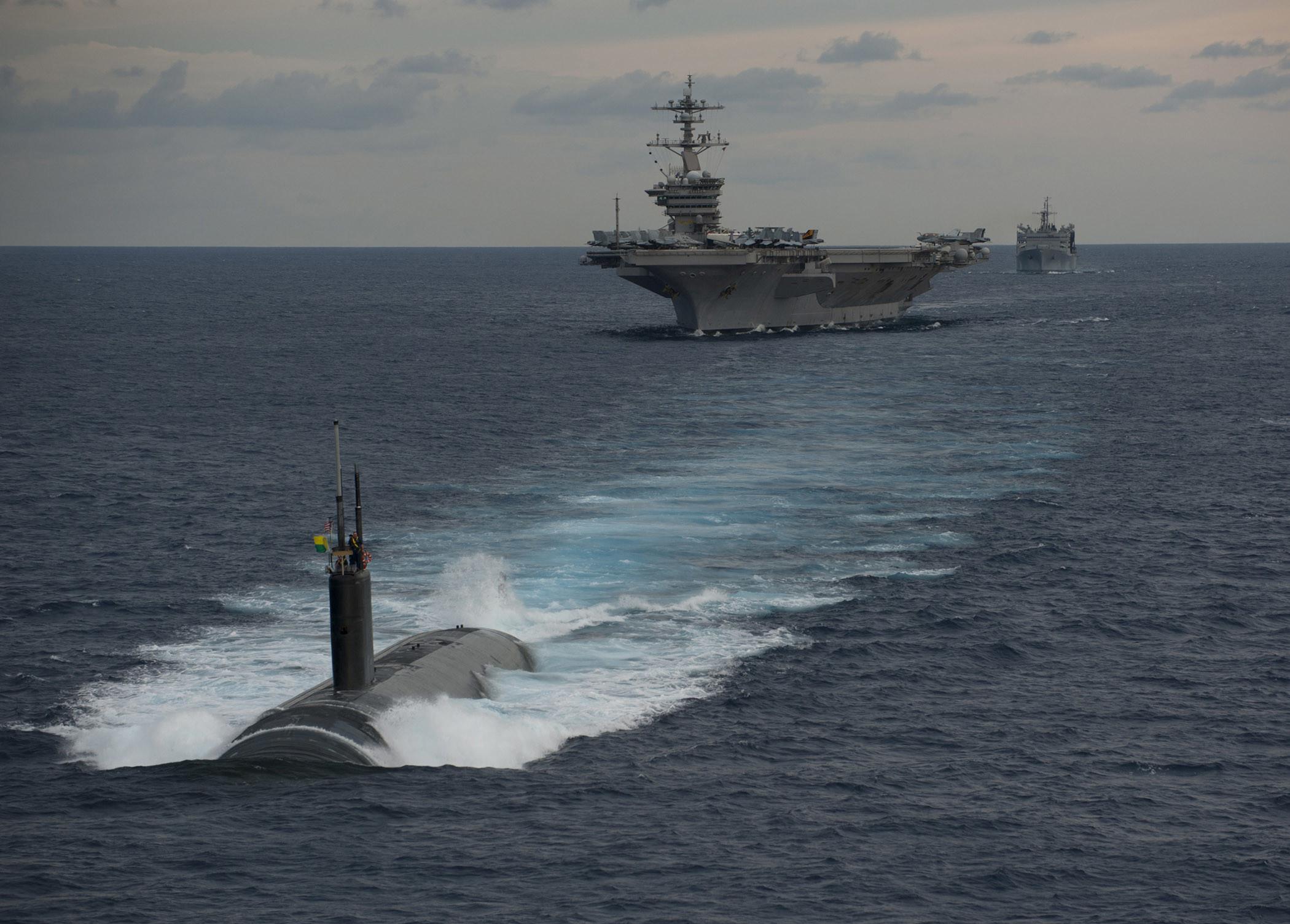 Res: 2100x1505, Exercise Malabar 2012 between Indian Navy & the US Navy [Wallpaper] ...