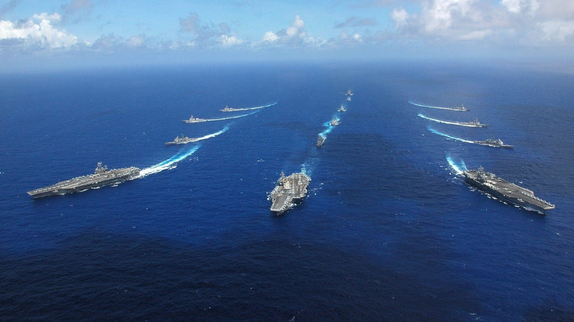 Res: 1920x1080, ocean, sea , military, US Navy , ships, navy, united large HD