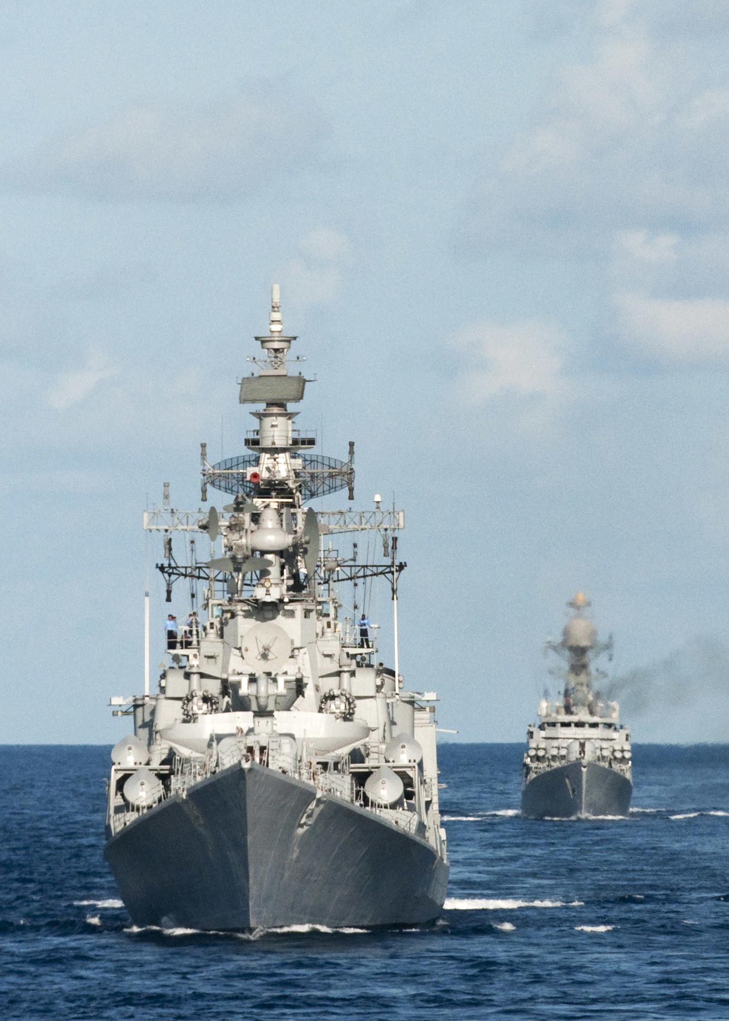 Res: 1500x2100, Indian Navy Wallpaper - Rajput-class Destroyer warship