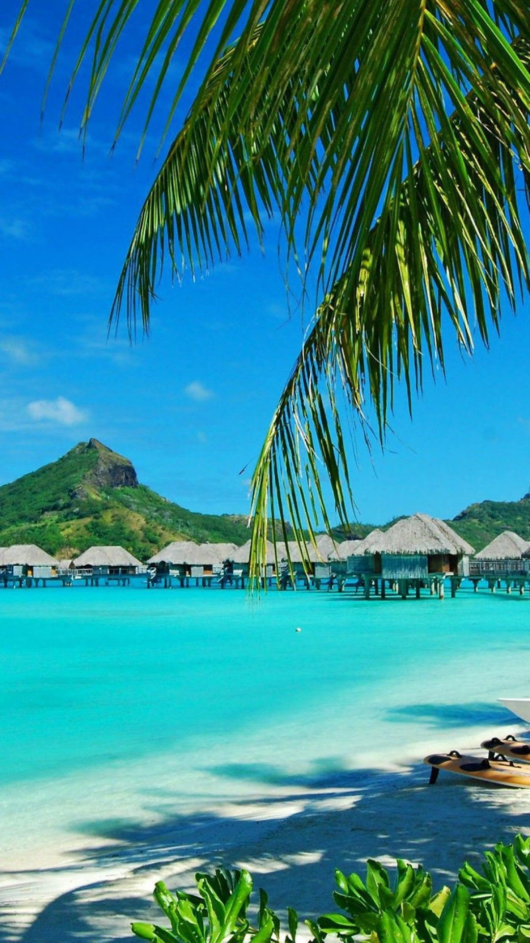 Res: 1080x1920, abstract iphone 6 plus wallpapers - bora bora resort bungalows iphone 6  plus hd wallpaper-