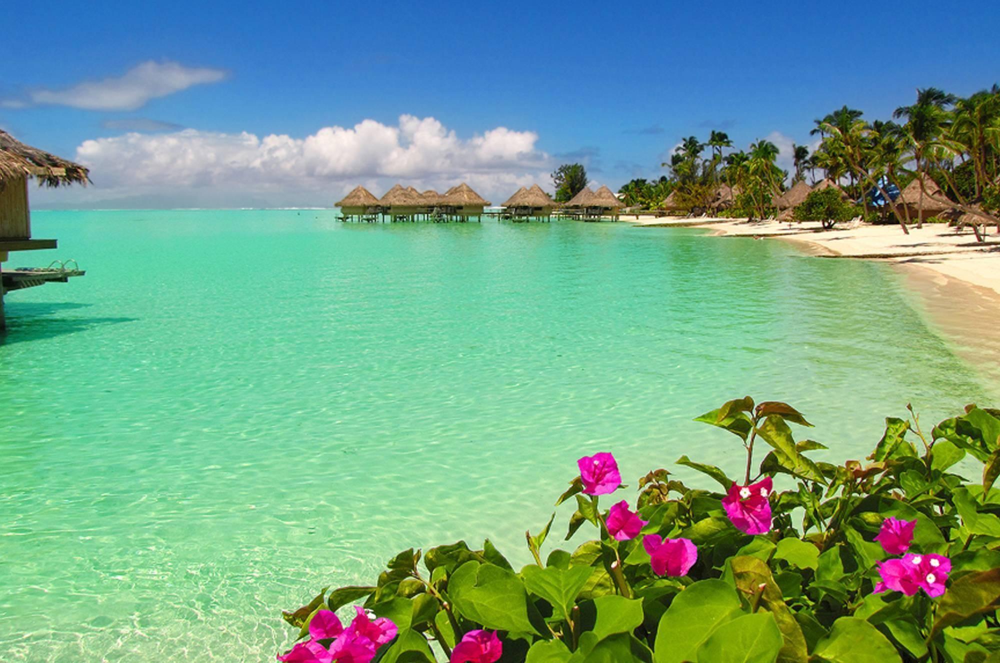 Res: 2000x1326, Bora Bora Beach Water Bungalows