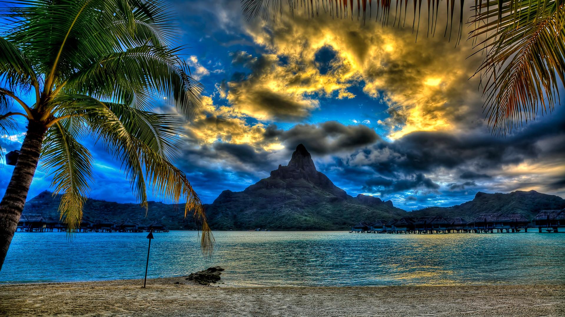 Res: 1920x1080, Download Size: px · Tahiti - Bora Bora