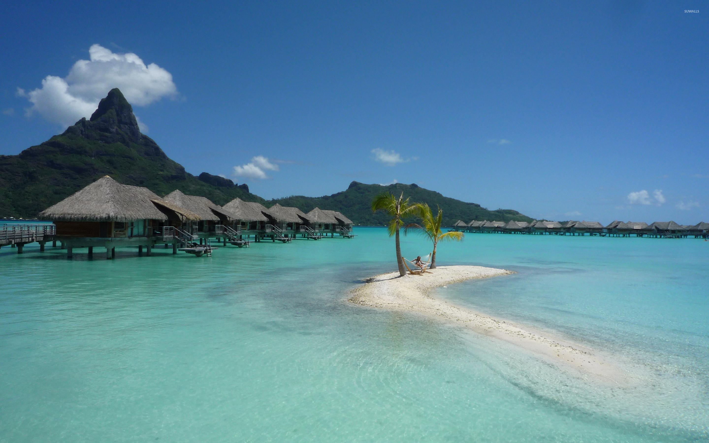 Res: 2880x1800, Bora Bora Resort [2] wallpaper  jpg