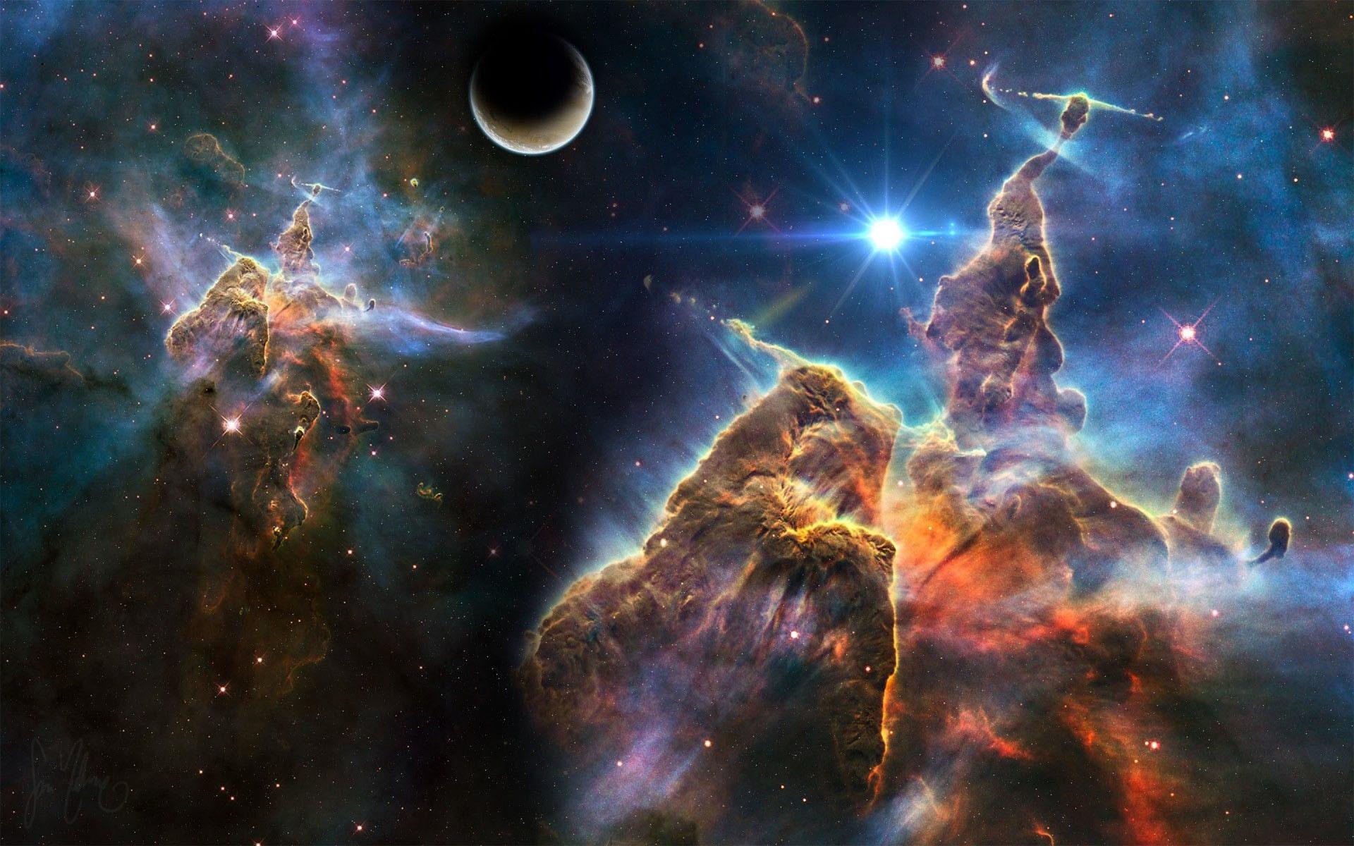Res: 1920x1200, Carina Nebula HD wallpaper