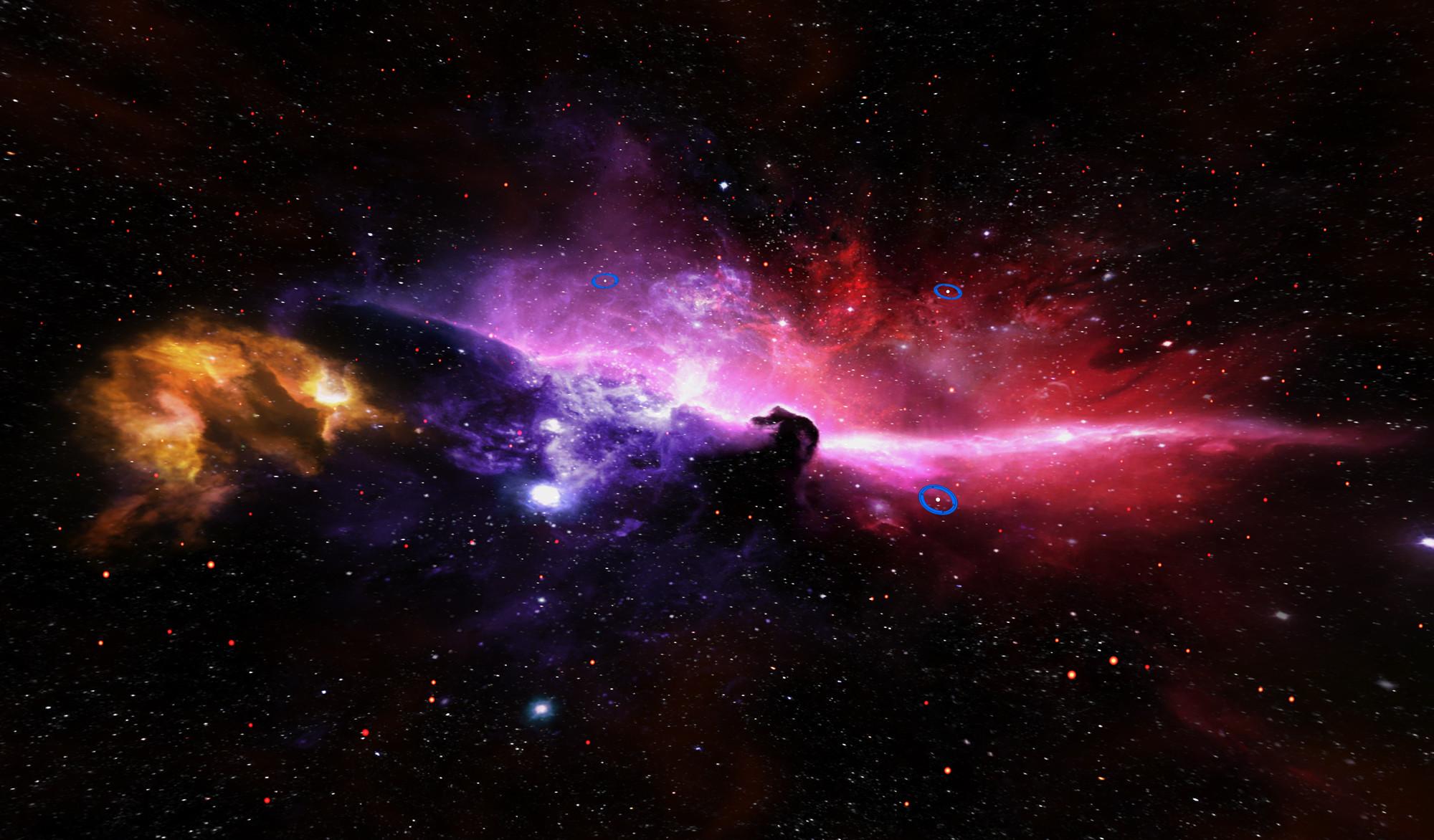 Res: 2000x1172, Horse Nebula HD Desktop Wallpaper