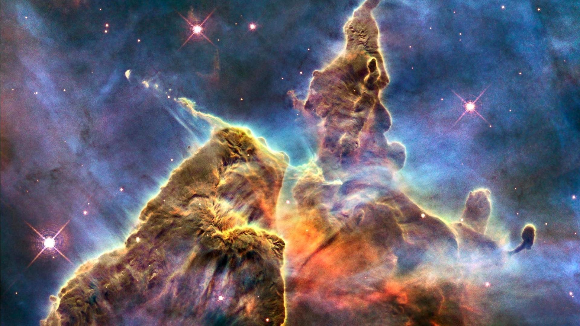 Res: 1920x1080, Carina Nebula