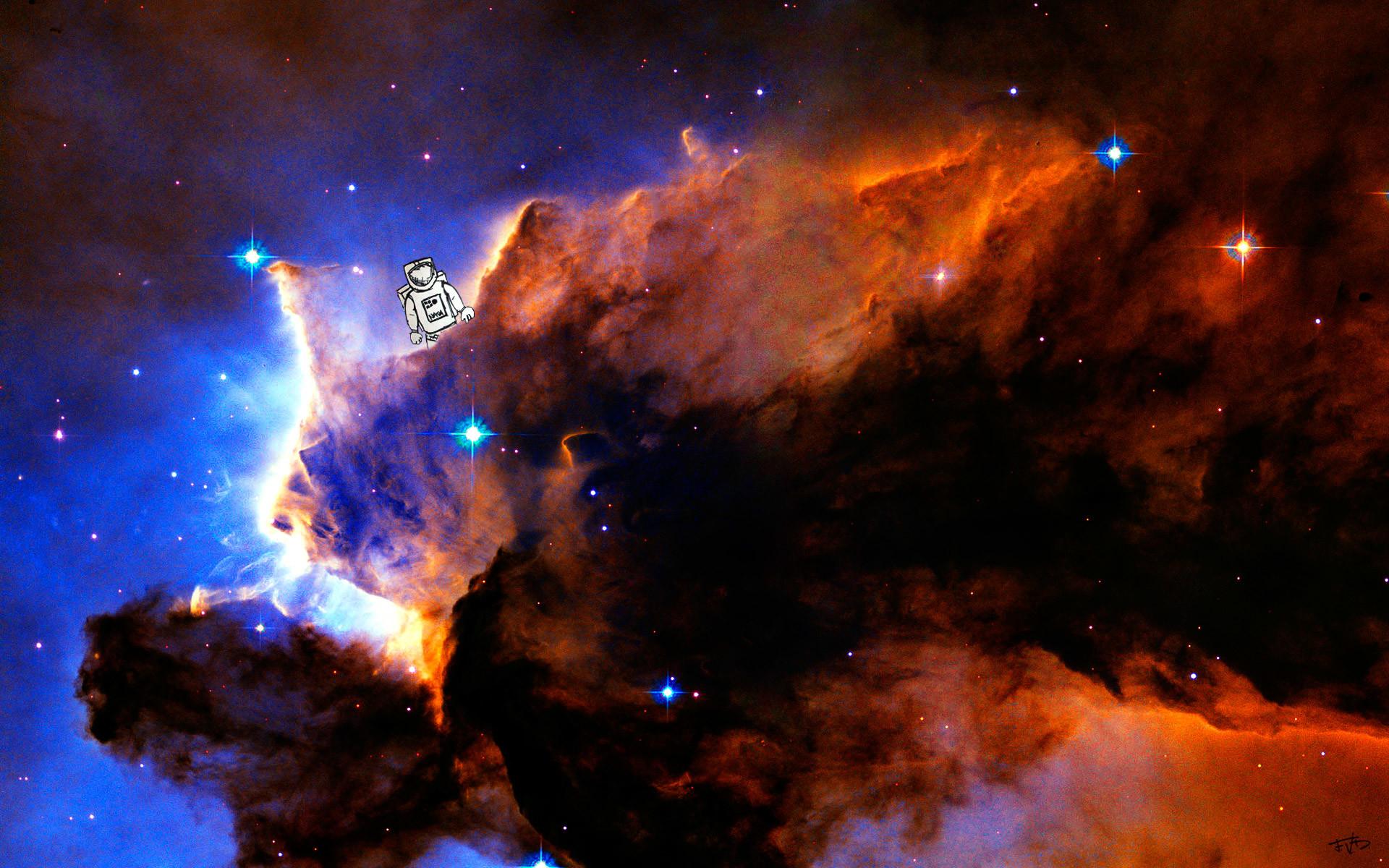 Res: 1920x1200, Eagle Nebula HD Wallpaper