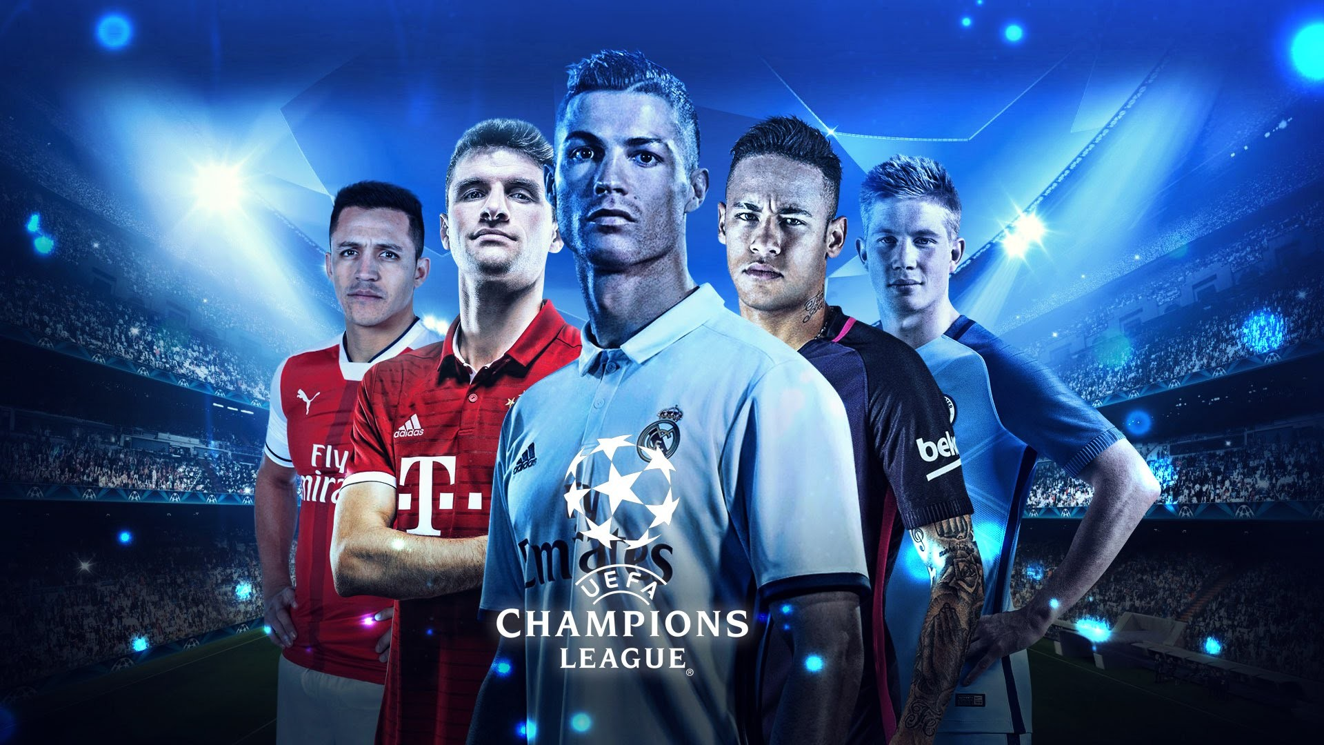Res: 1920x1080, Uefa Champions League New Images