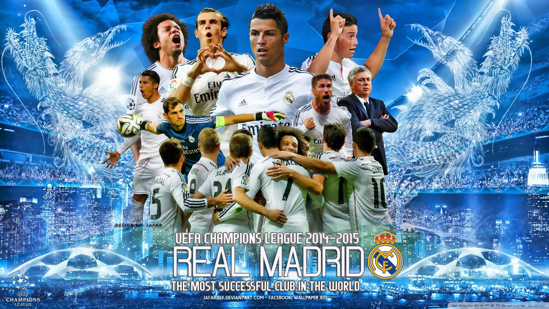 Res: 1920x1080, cool Reeal Madrid Champions League Wallpaper