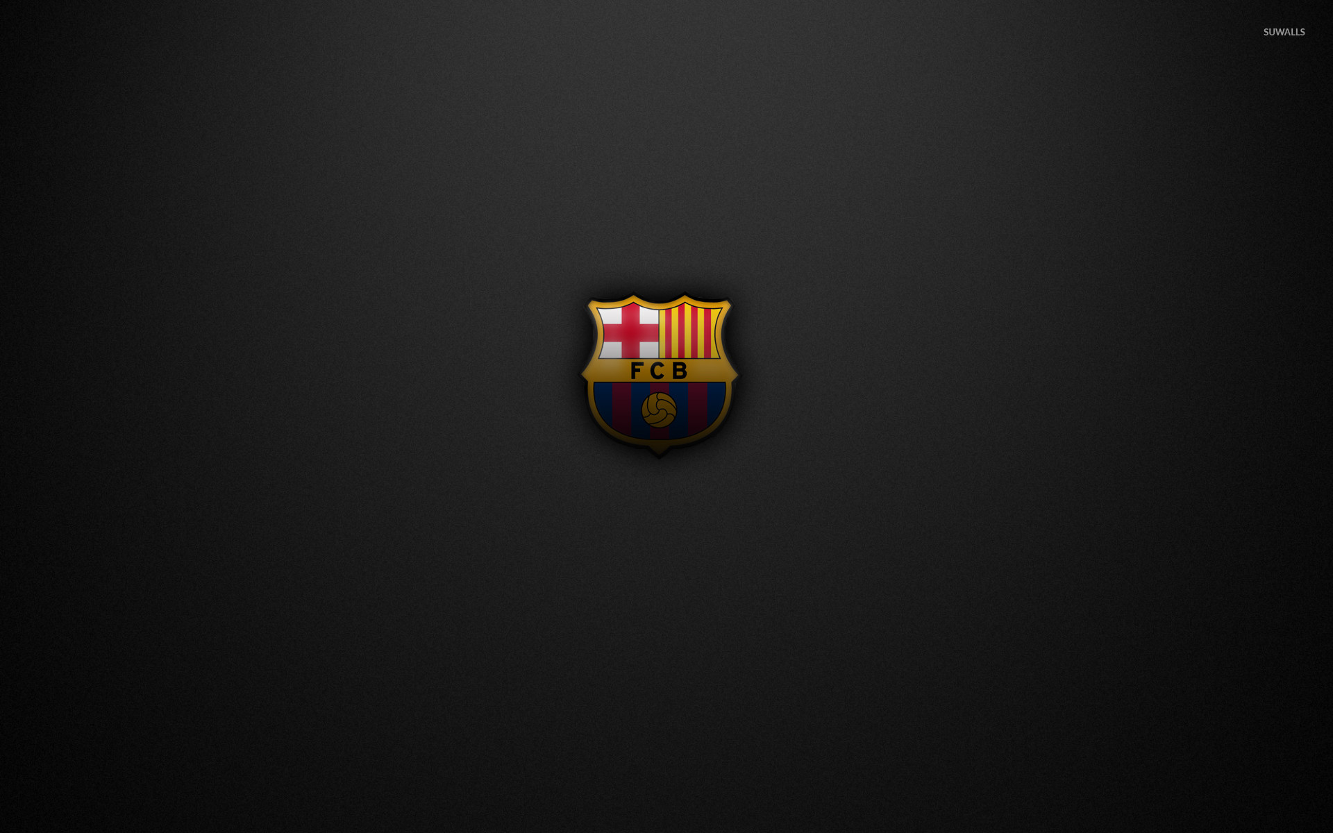 Res: 1920x1200, FC Barcelona on a gray texture wallpaper  jpg