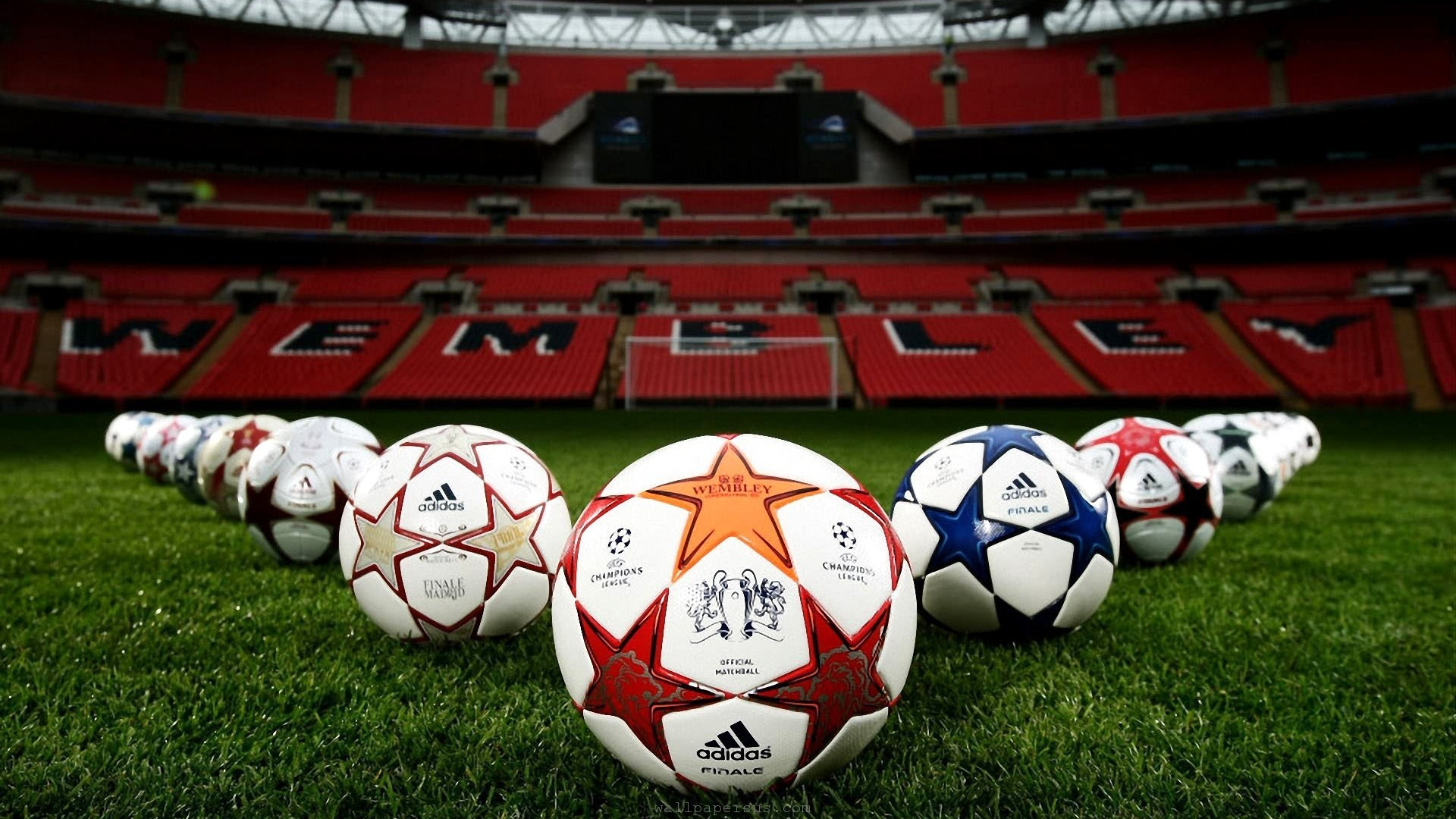 Res: 1920x1080, UEFA Champions League Ball Wallpaper