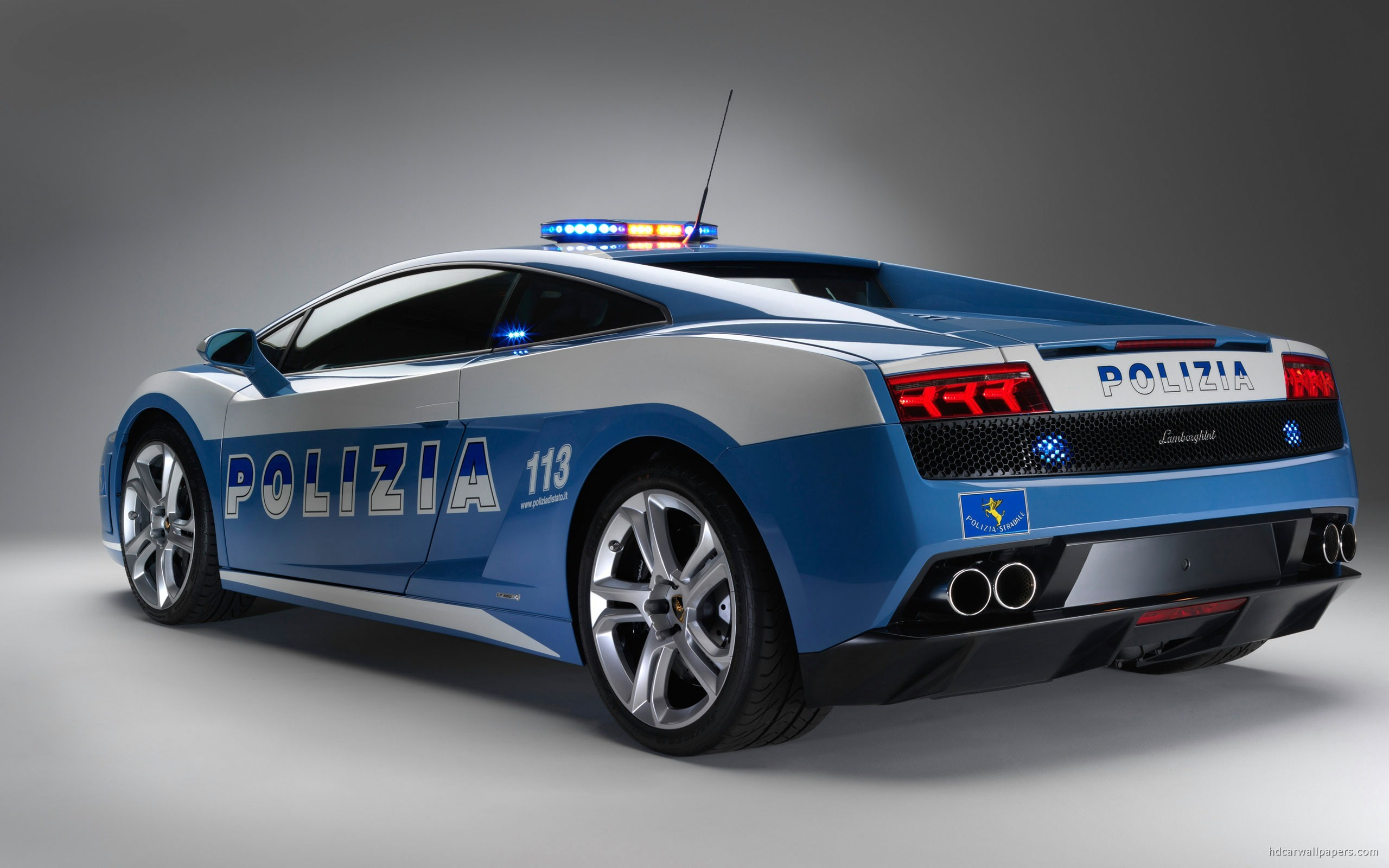 Res: 2560x1600, Lamborghini Gallardo Police Car Wallpaper
