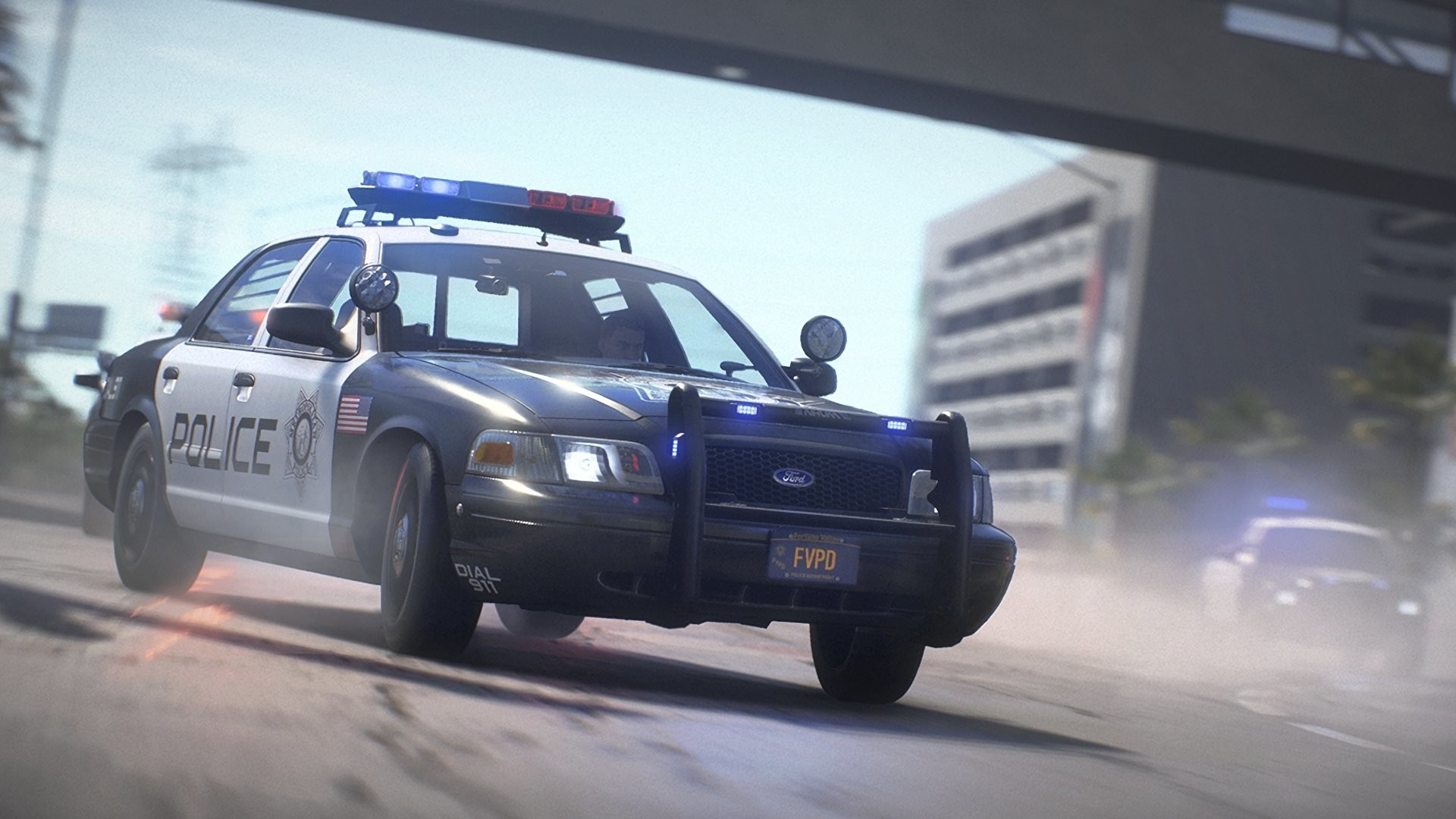 Res: 1920x1080, Video Game - Need for Speed Payback Need For Speed Ford Car Police Car  Wallpaper