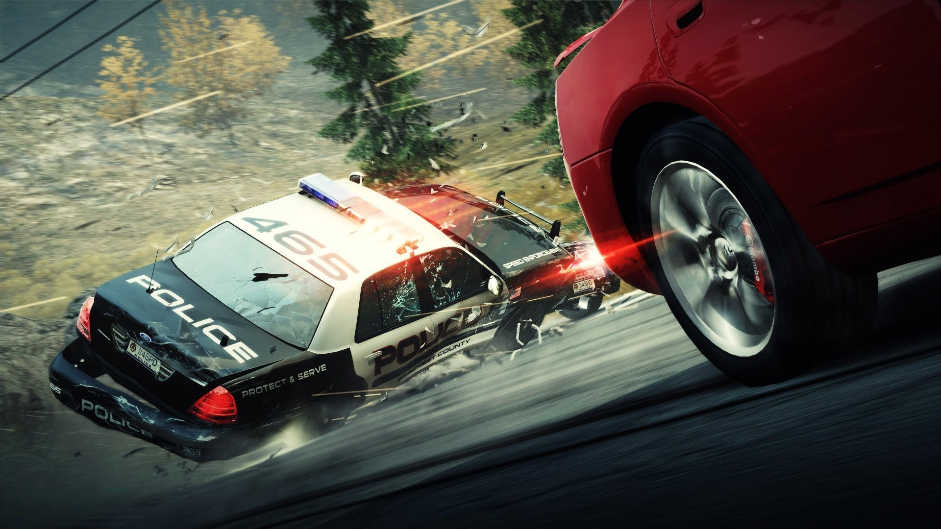 Res: 1920x1080, Awesome Need For Speed Police Car Wallpaper Full Hd Pics Widescreen Video  Games Hot Pursuit Cars Of Mobile Phones