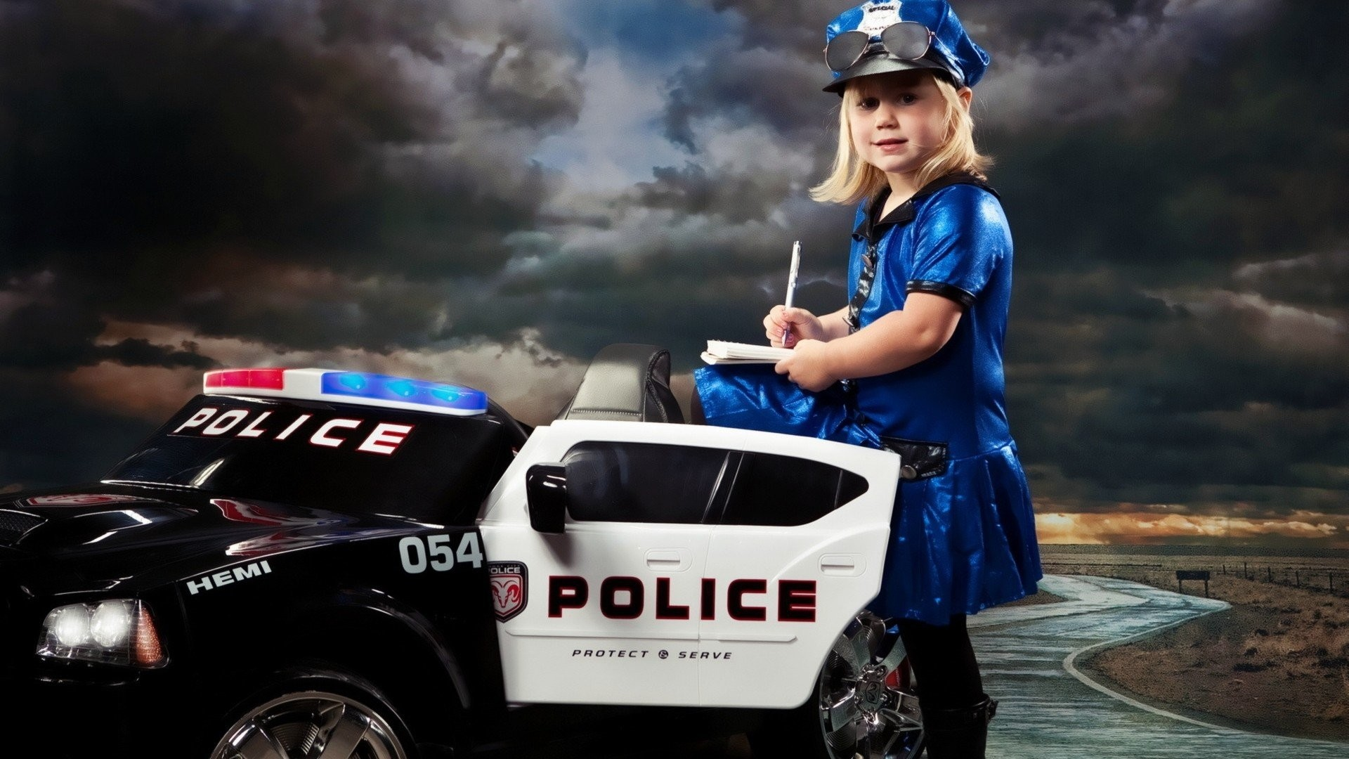 Res: 1920x1080, Women police funny police cars wallpaper |  | 252101 | WallpaperUP