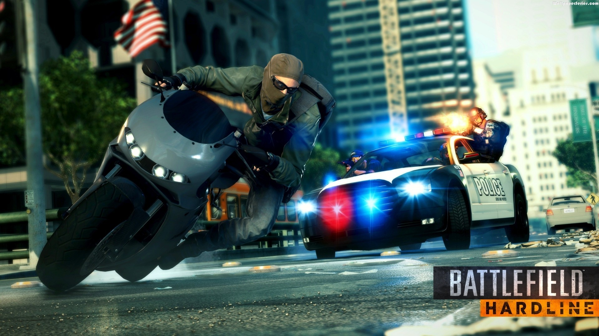 Res: 1920x1080, HardLine Game Police Car HD Wallpaper Stylish HD Wallpapers