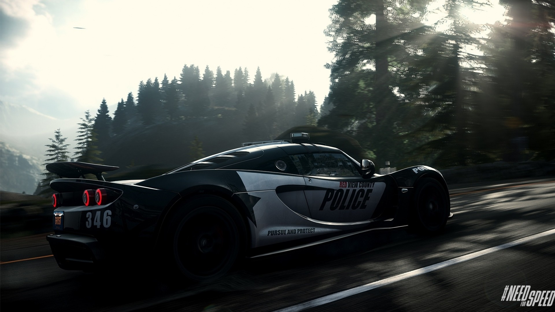 Res: 1920x1080, Need for Speed Rivals Police Car Wallpaper