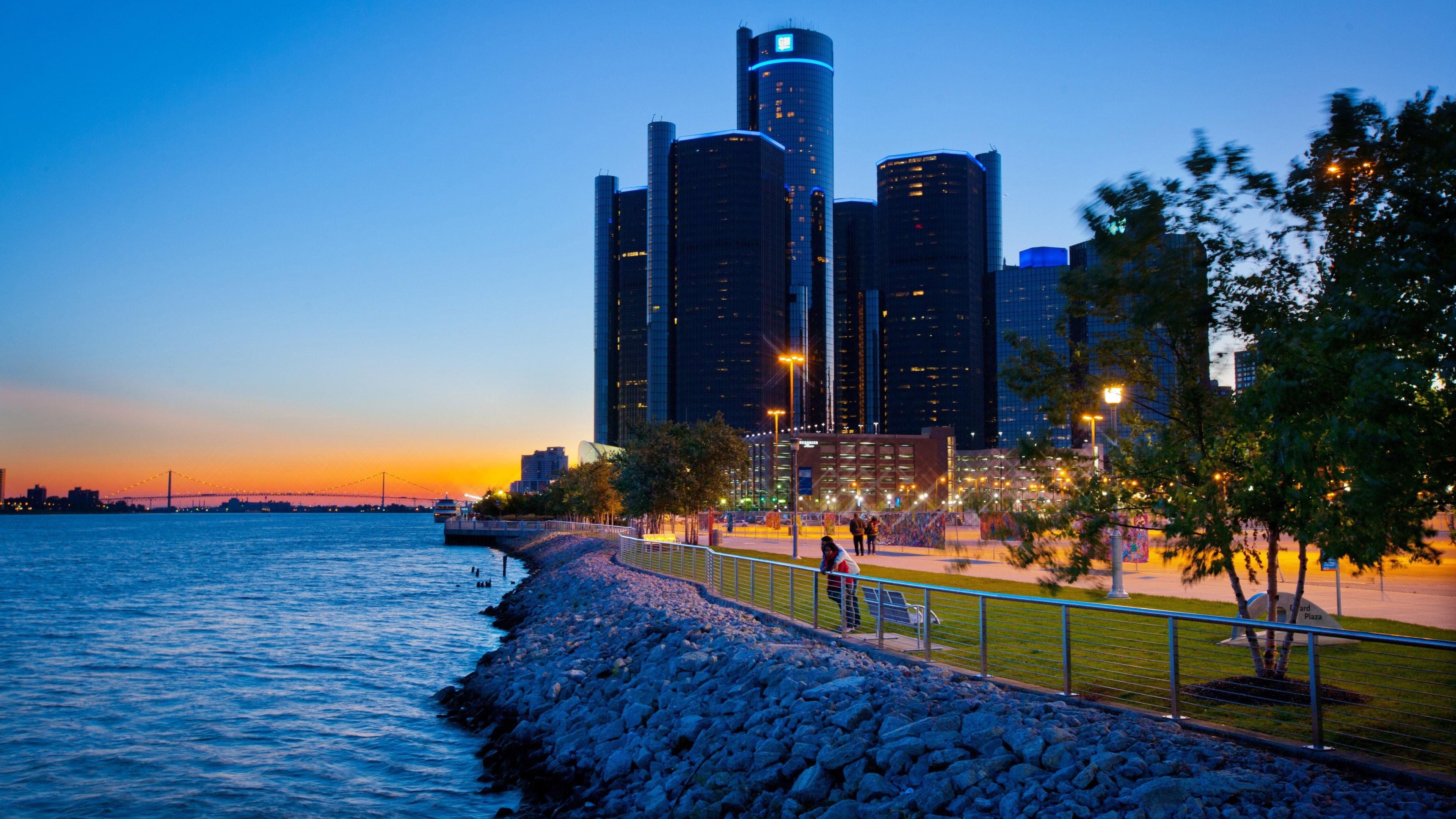 Res: 3840x2160, Detroit widescreen wallpapers