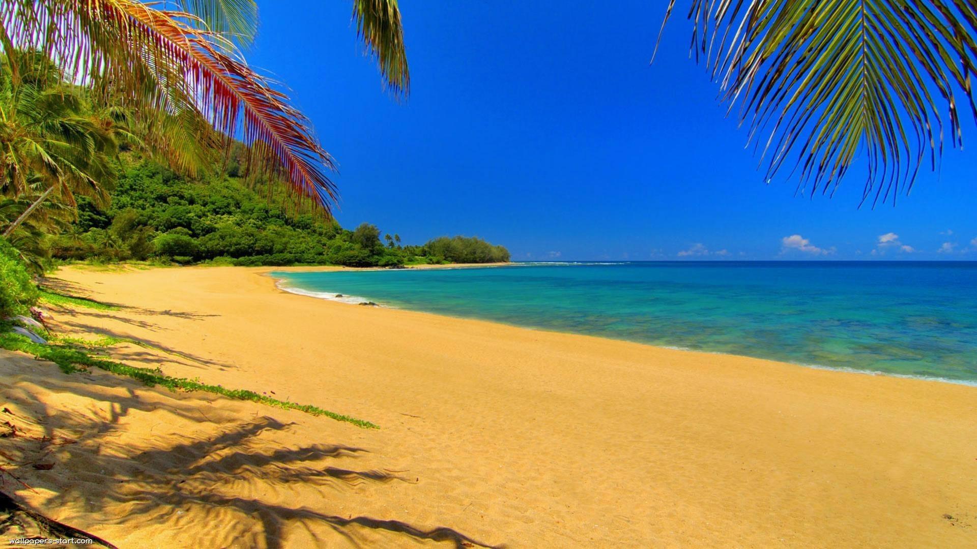 Res: 1920x1080,  Beach-summer-backgrounds-desktop-free-download