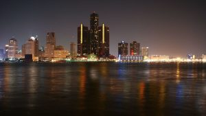 Detroit Skyline wallpapers