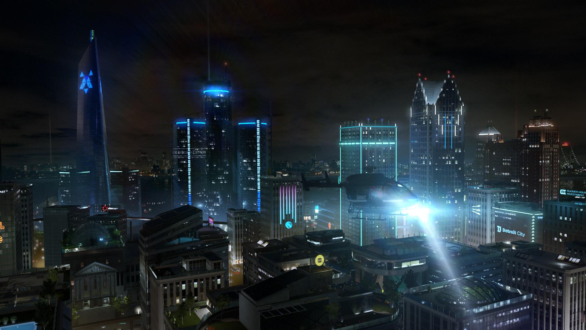 Res: 1920x1080, Video Game - Detroit: Become Human Quantic Dream Wallpaper