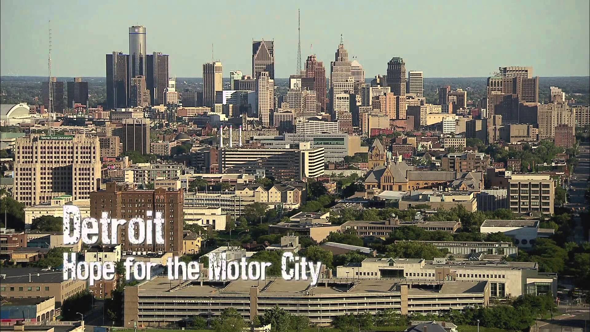 Res: 1920x1080, Modern ruins: Detroit – Hope for a motor city
