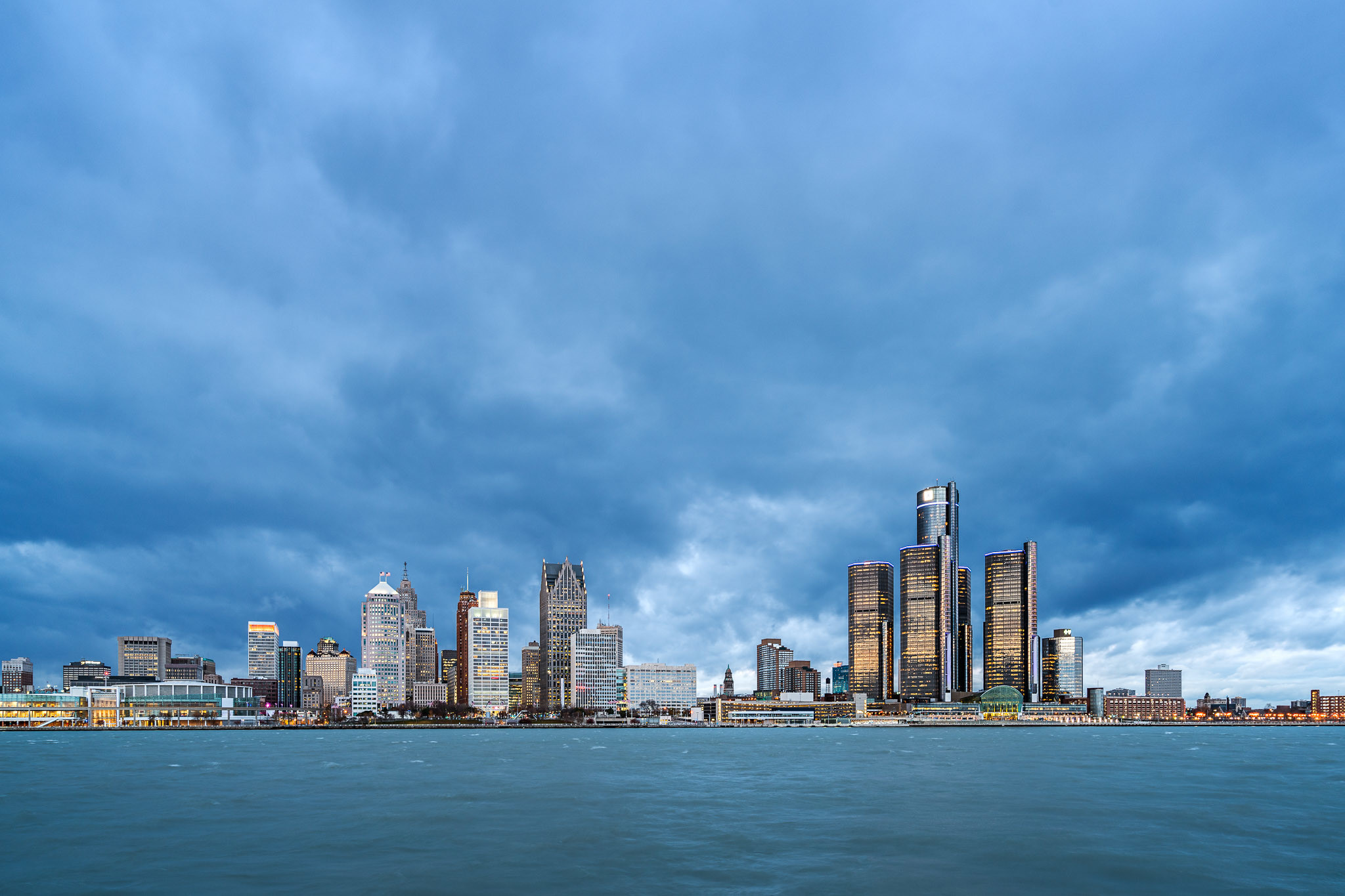 Res: 2048x1365, Shooting the Detroit skyline from Windsor, Canada