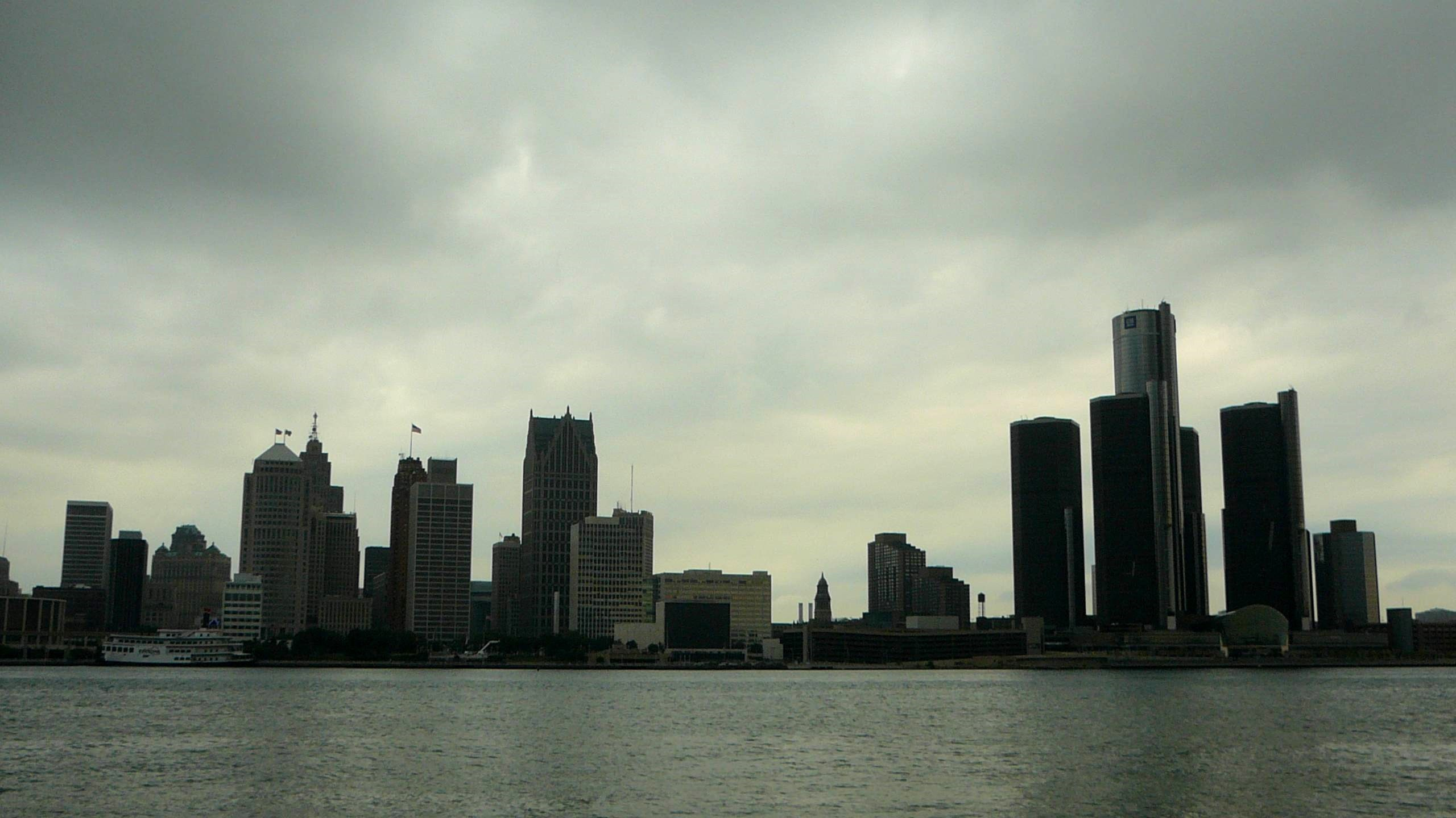 Res: 2560x1440, ... Detroit Skyline Wallpapers Wallpaper Cave ...